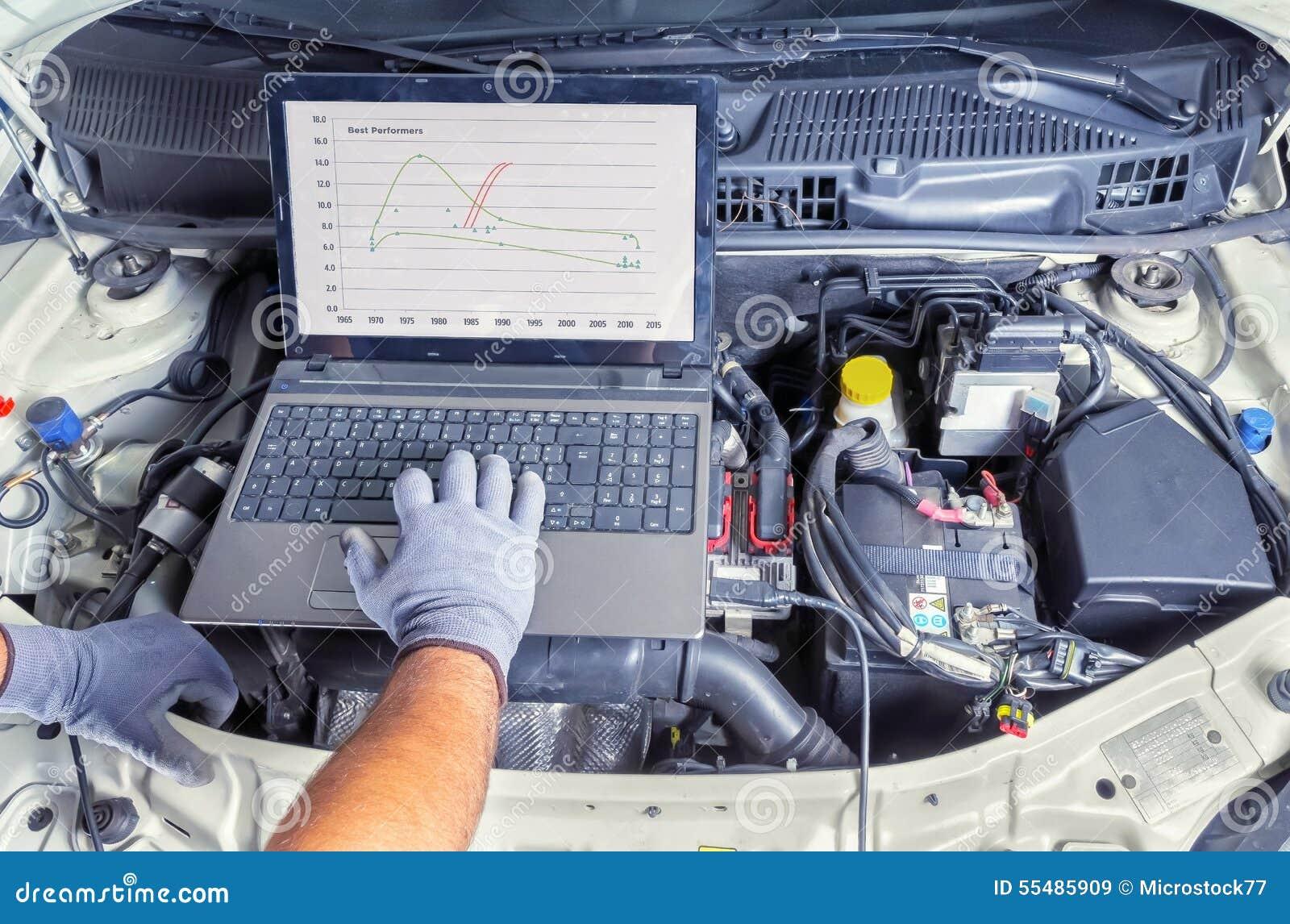 诊断汽车计算机