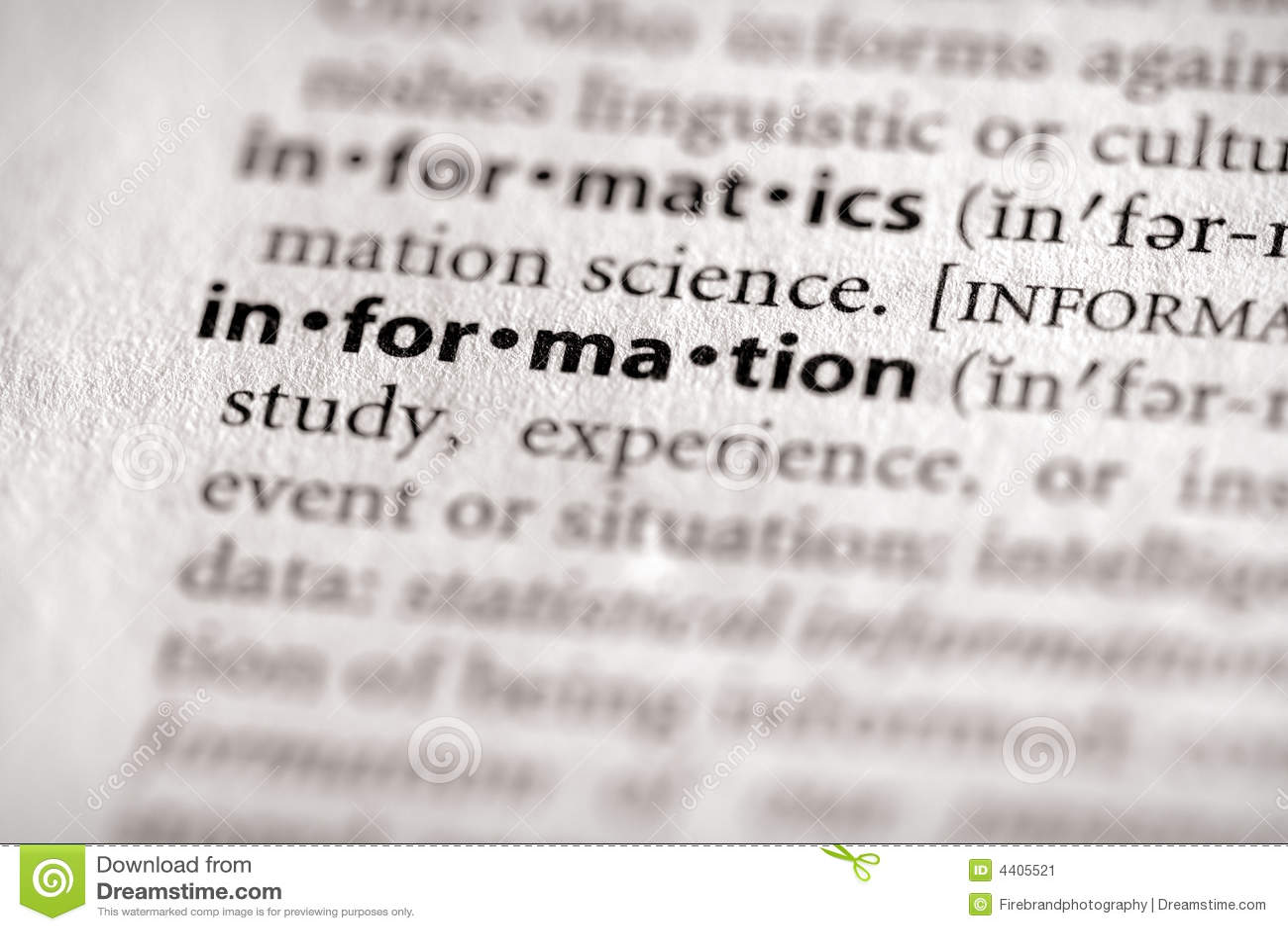 词典信息信息系列