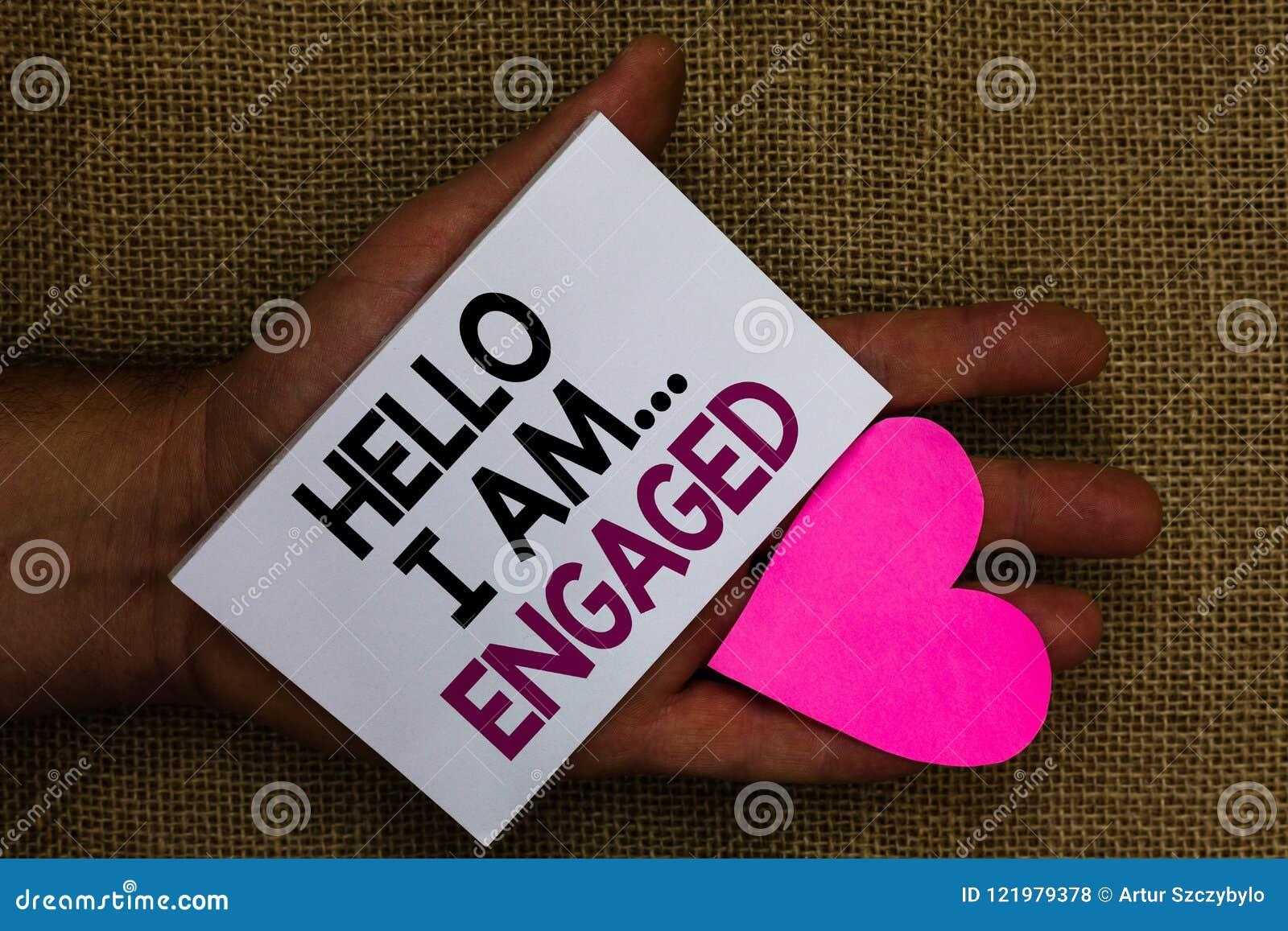 词文字文本你好我是 从事 他的企业概念给了我们结婚婚姻的人的手touc的圆环