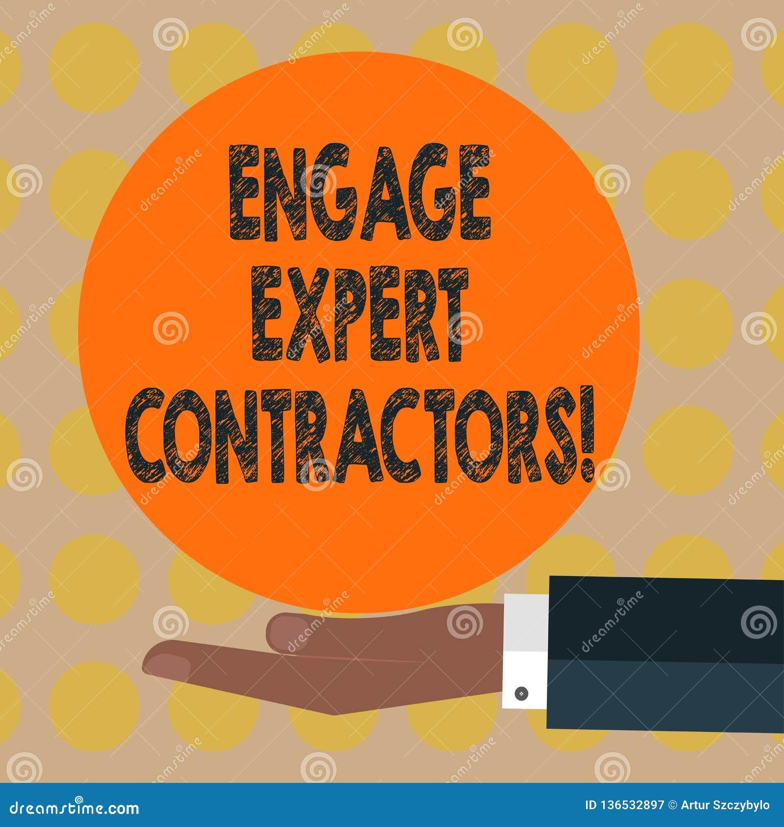 词文字文本允诺专家的承包商 聘用的熟练的outworkers的企业概念短时间运作胡分析手