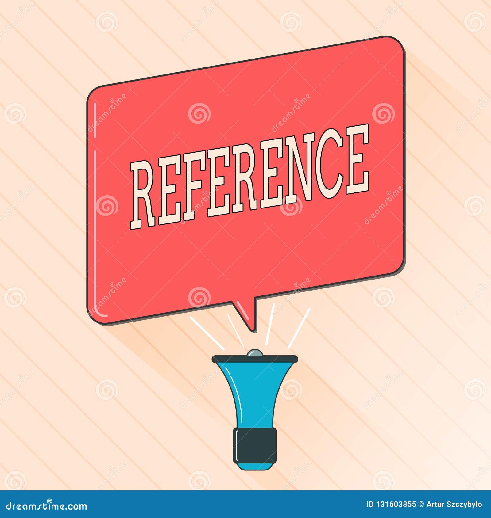 词文字文本参考 提及或暗示的企业概念某事推荐提及