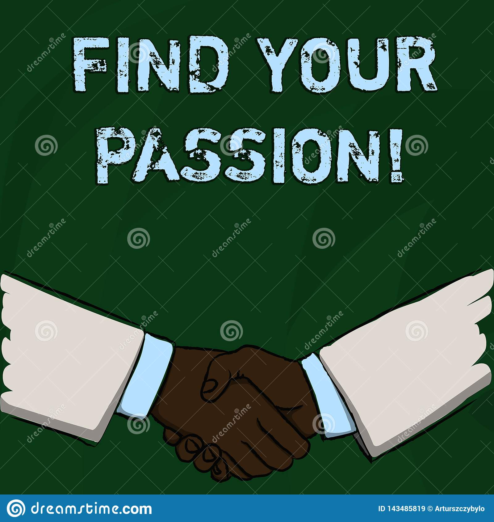 词文字文本发现您的激情 没有其他失业的企业概念不找到复杂的梦想事业商人