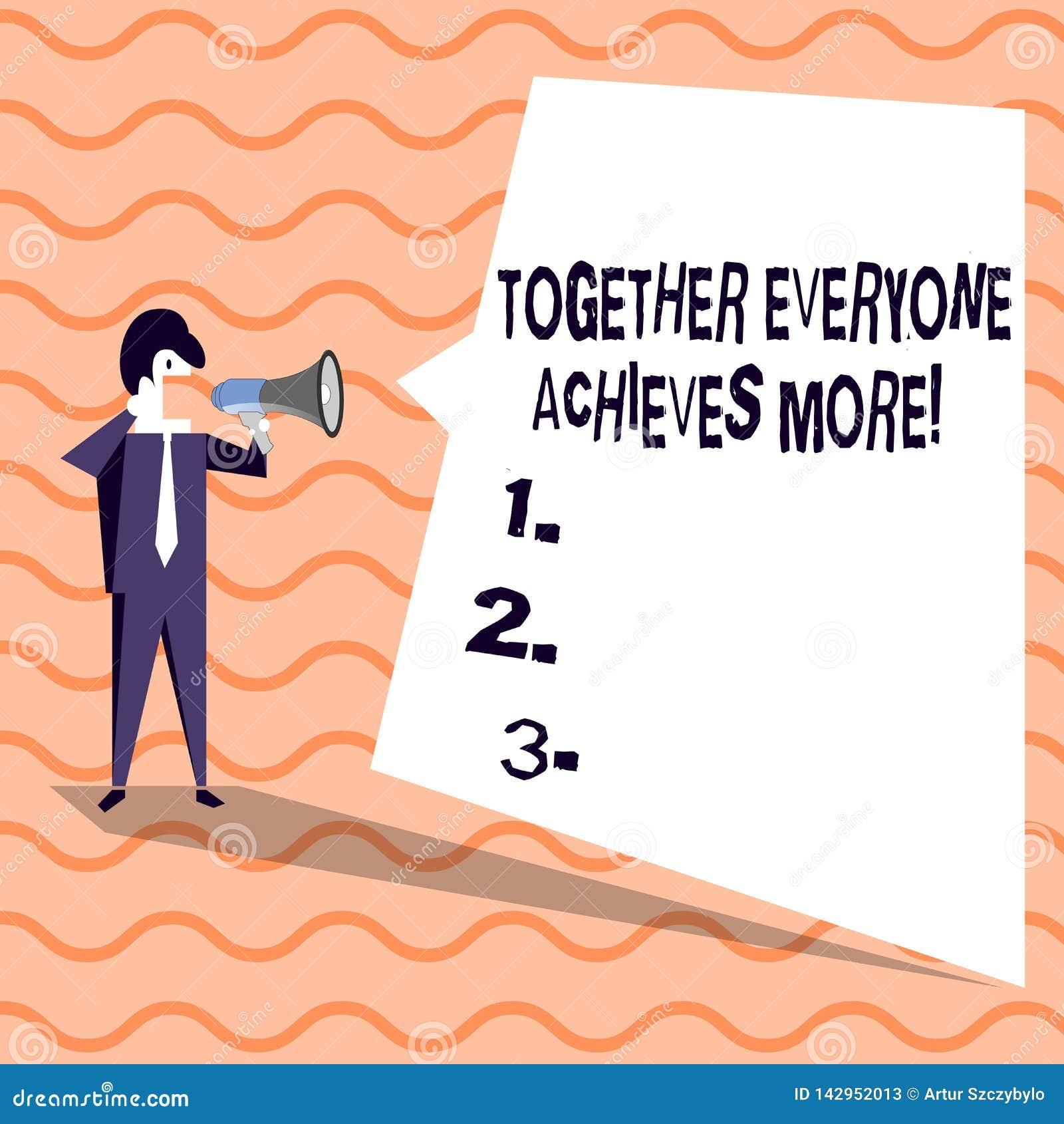 词文字文本大家一起达到更多 成员的企业概念创造共同作用强的感觉承诺