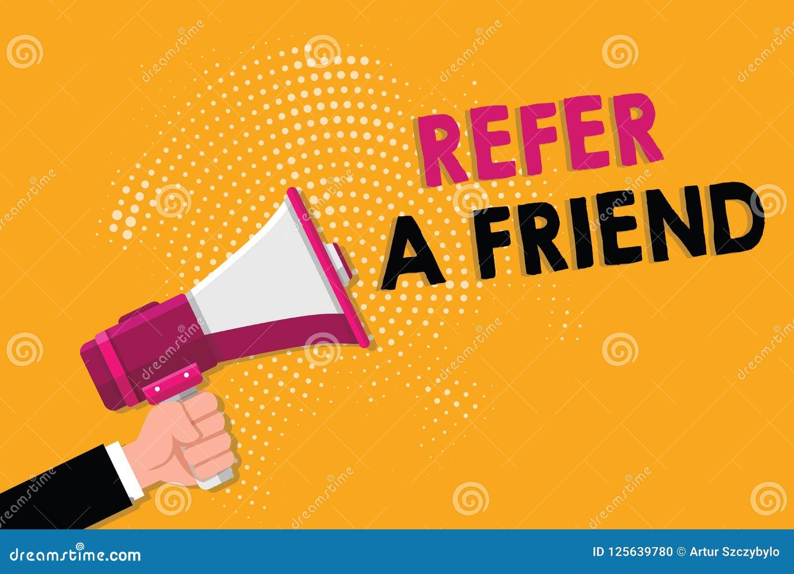 词文字文本提到一个朋友 推荐的企业概念任命在任务合格的某人