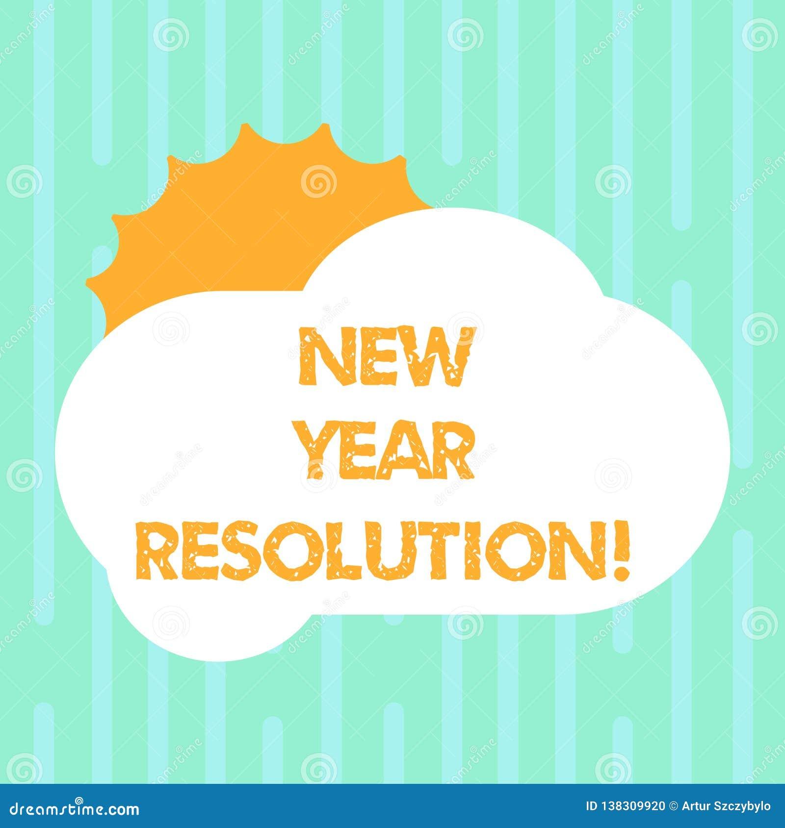 词文字文本新年决议 诺言的企业概念您做自己开始太阳做某事