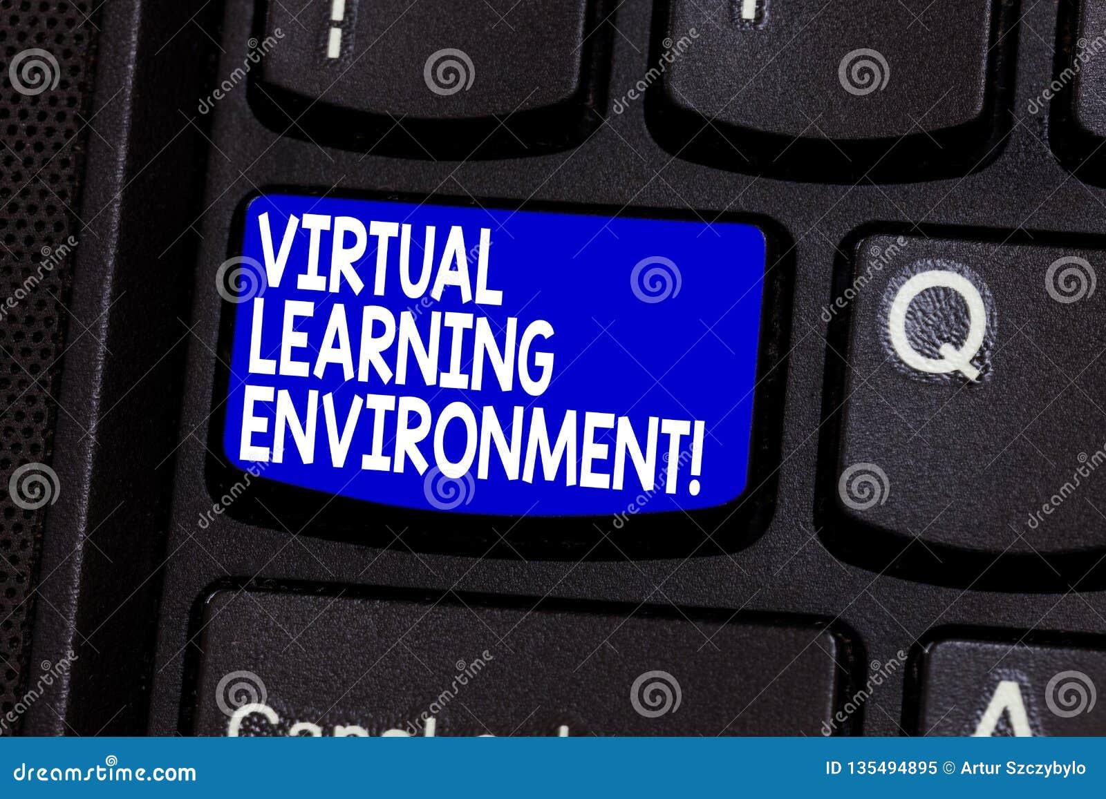 词文字文本真正学习环境 基于互联网的平台种类的企业概念教育技术