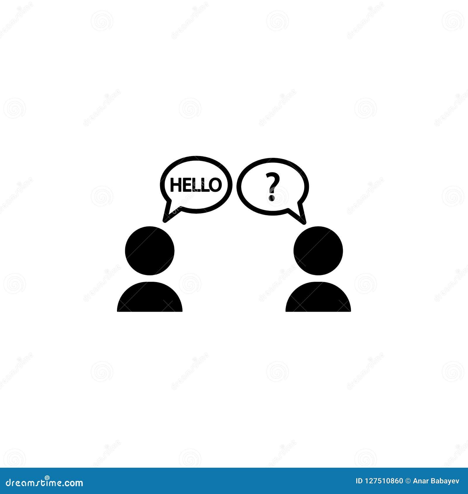 语言障隘象 被克服的挑战例证的元素 优质质量图形设计象 标志和标志coll