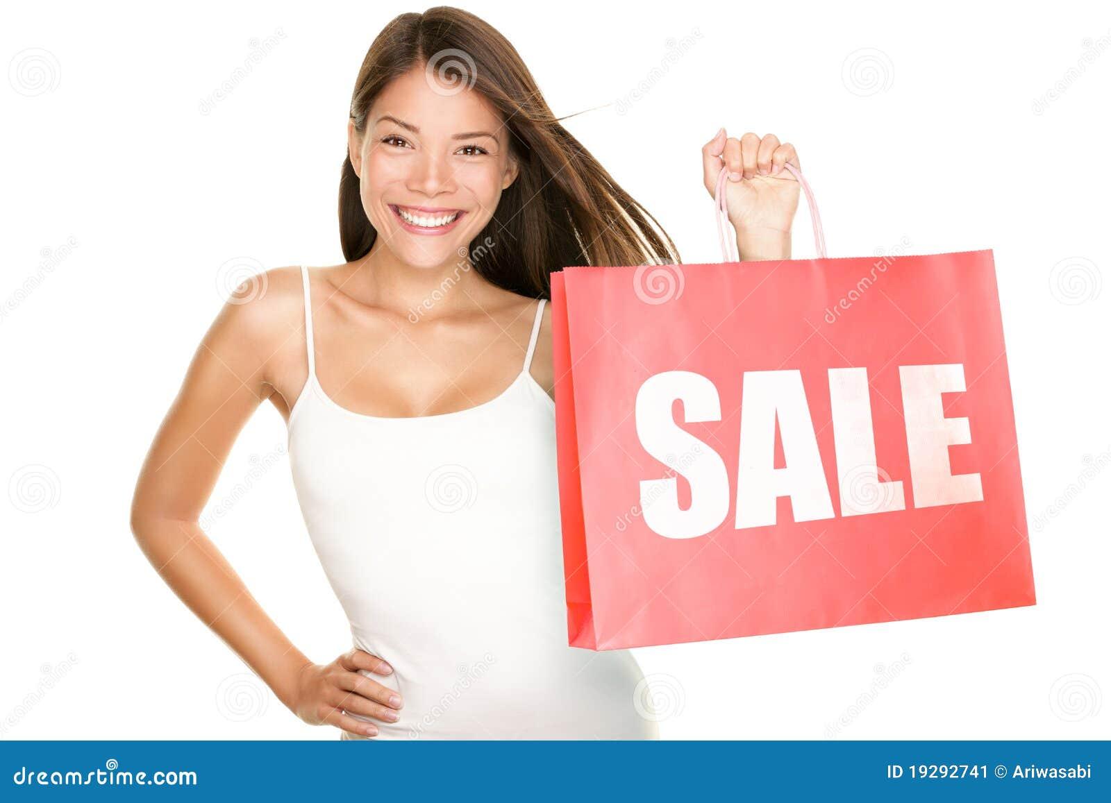 请求销售额购物妇女