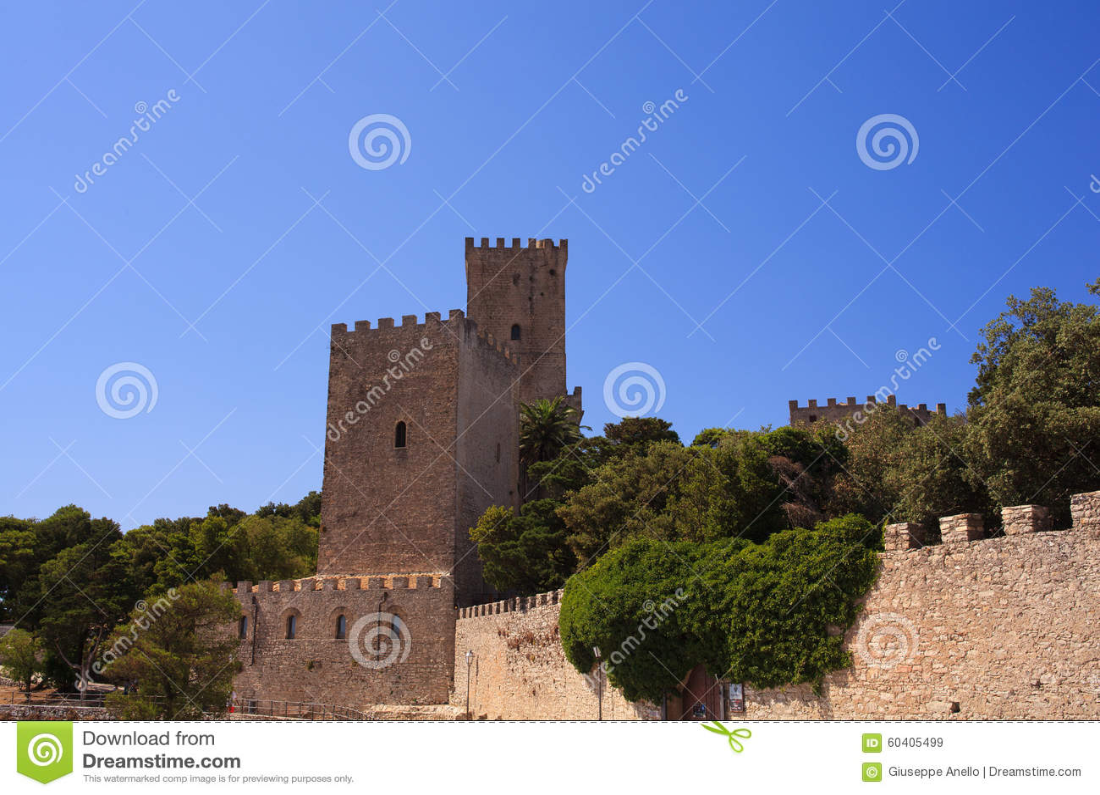 诺曼底城堡告诉了Torri del Balio,埃里切