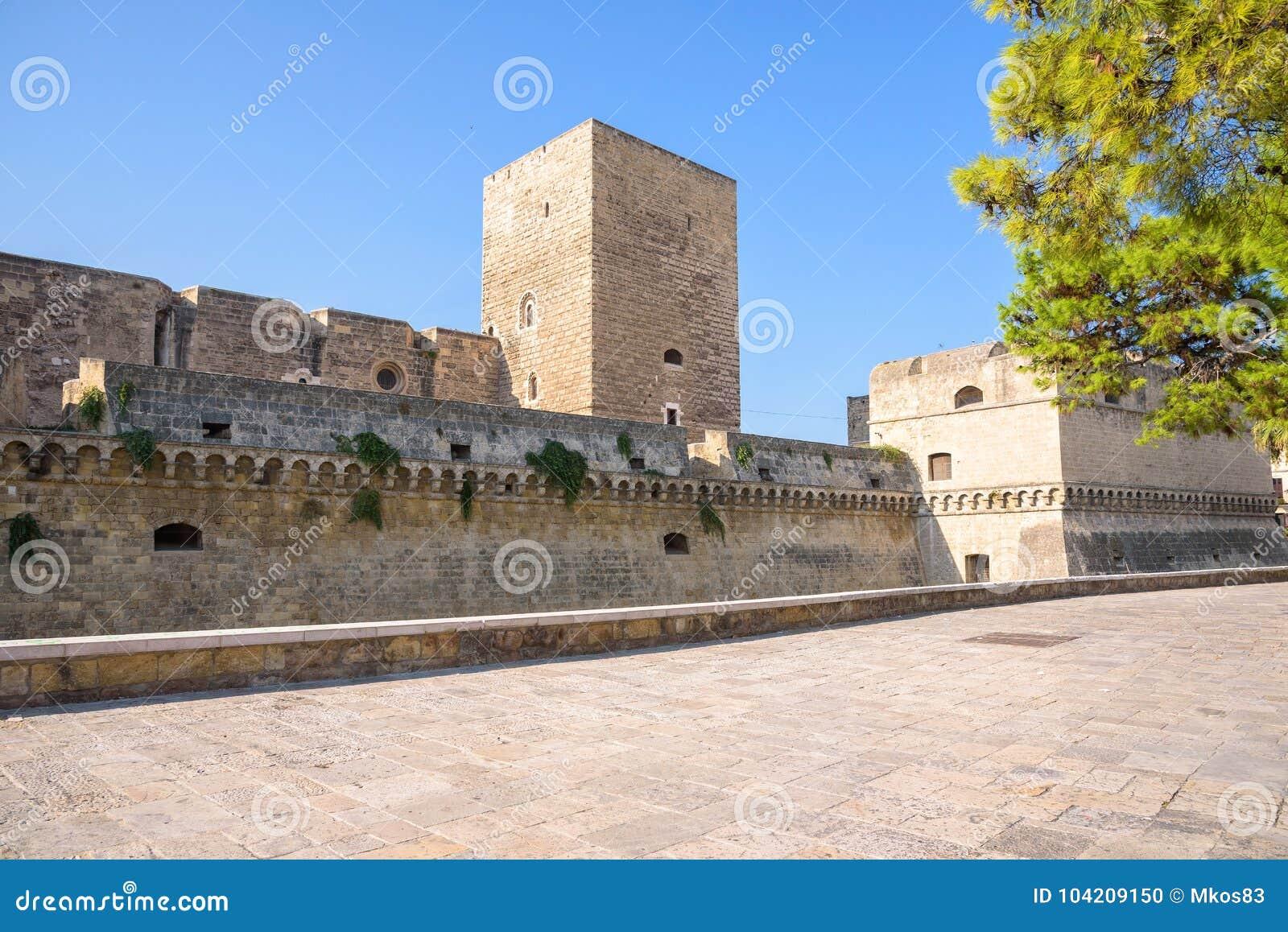 诺曼底城堡的西部垒在巴里