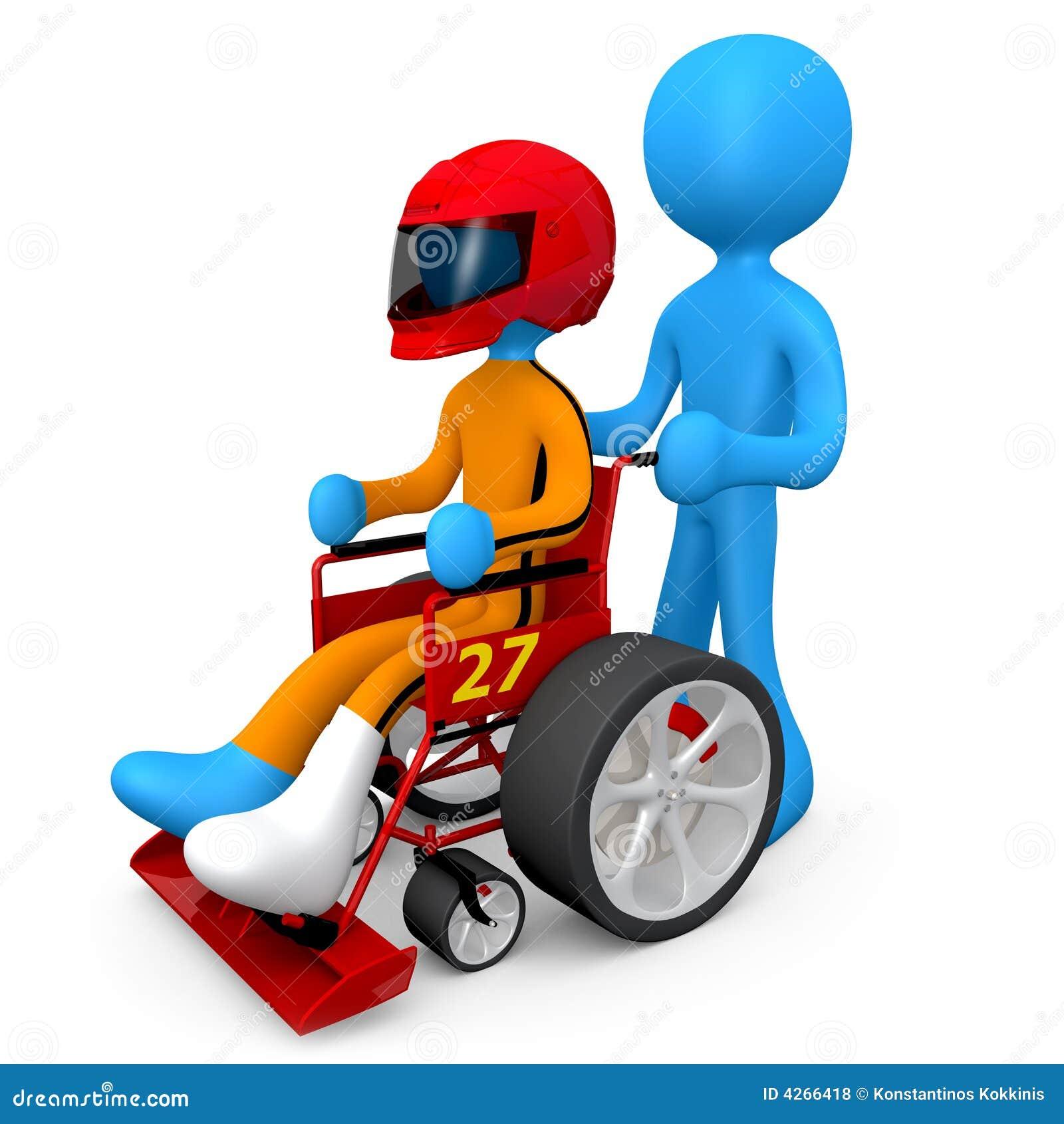 调整的轮椅