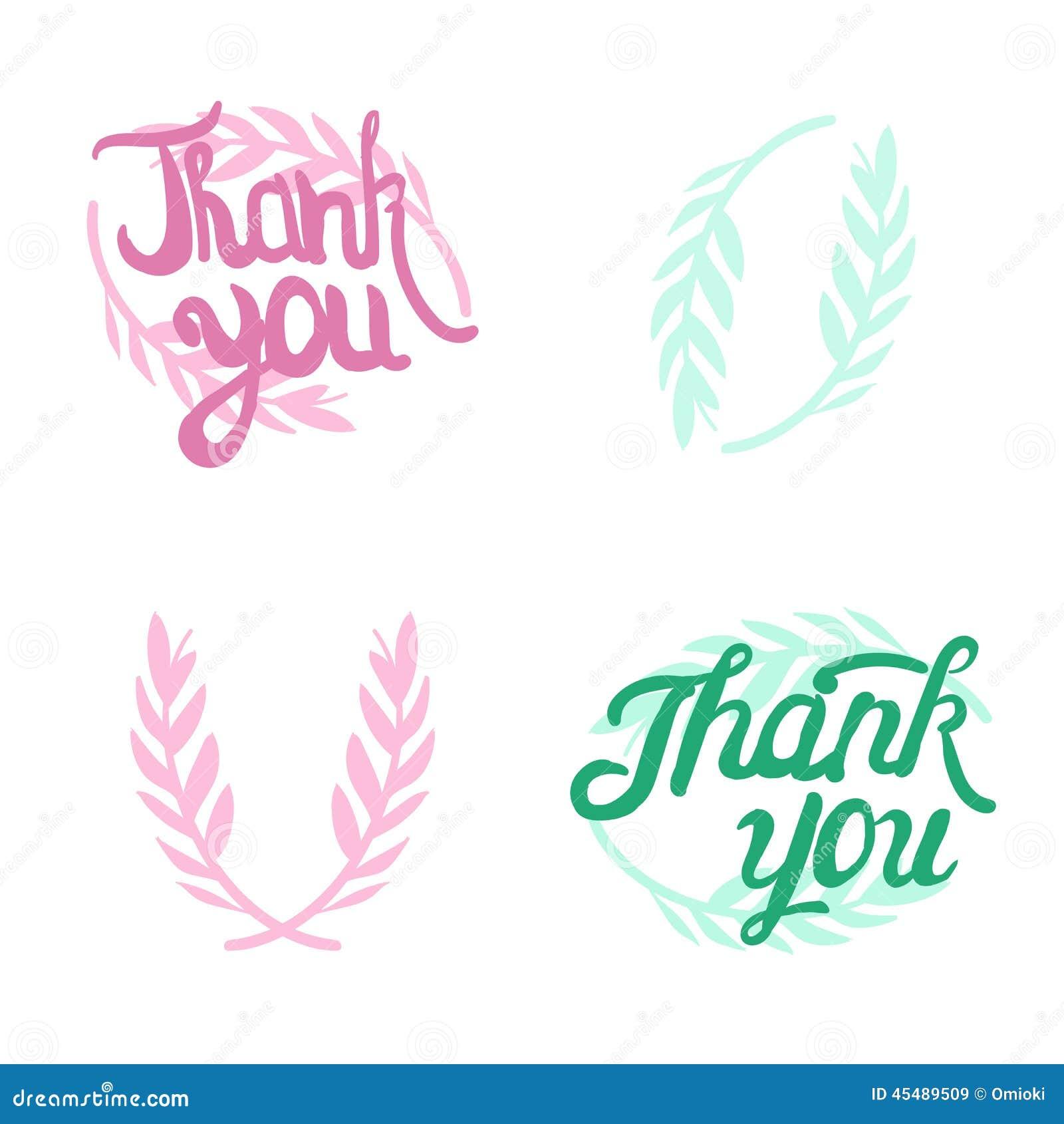 谢谢递有学问的标志用橄榄