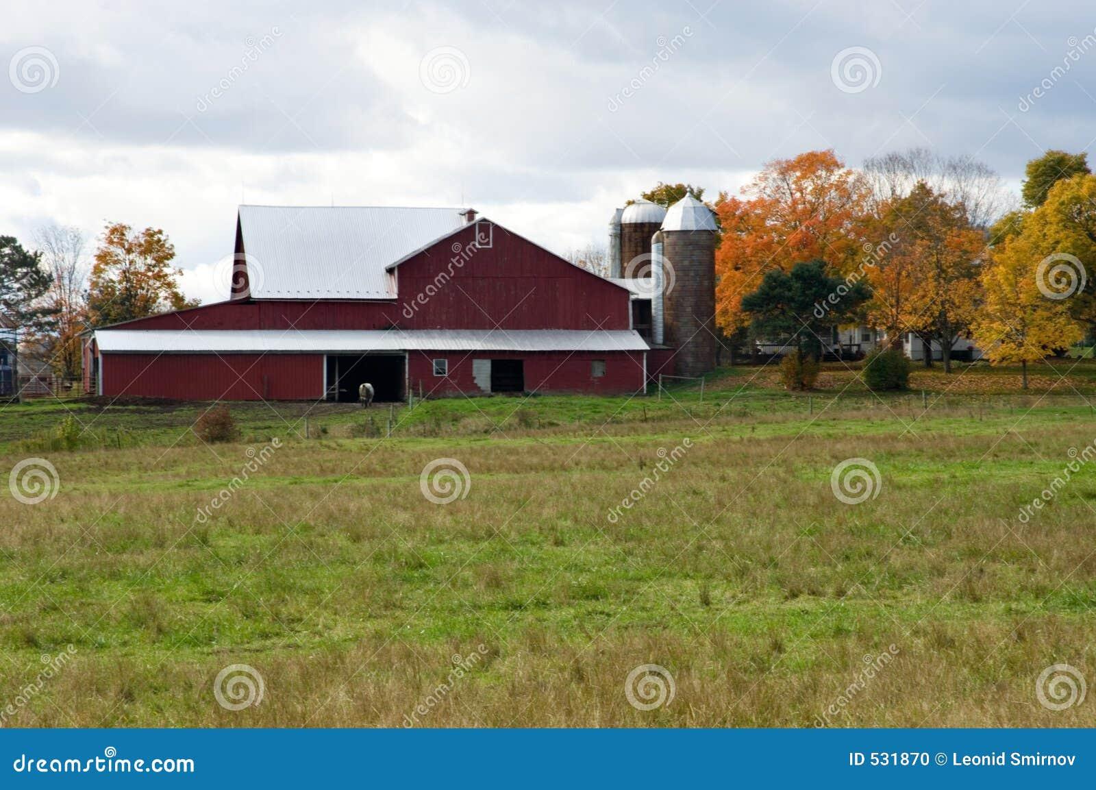 Download 谷仓红色 库存照片. 图片 包括有 终身保有的不动产, 补丁程序, 巡回演出, 尖刻的, 农庄, 草甸, 地产 - 531870