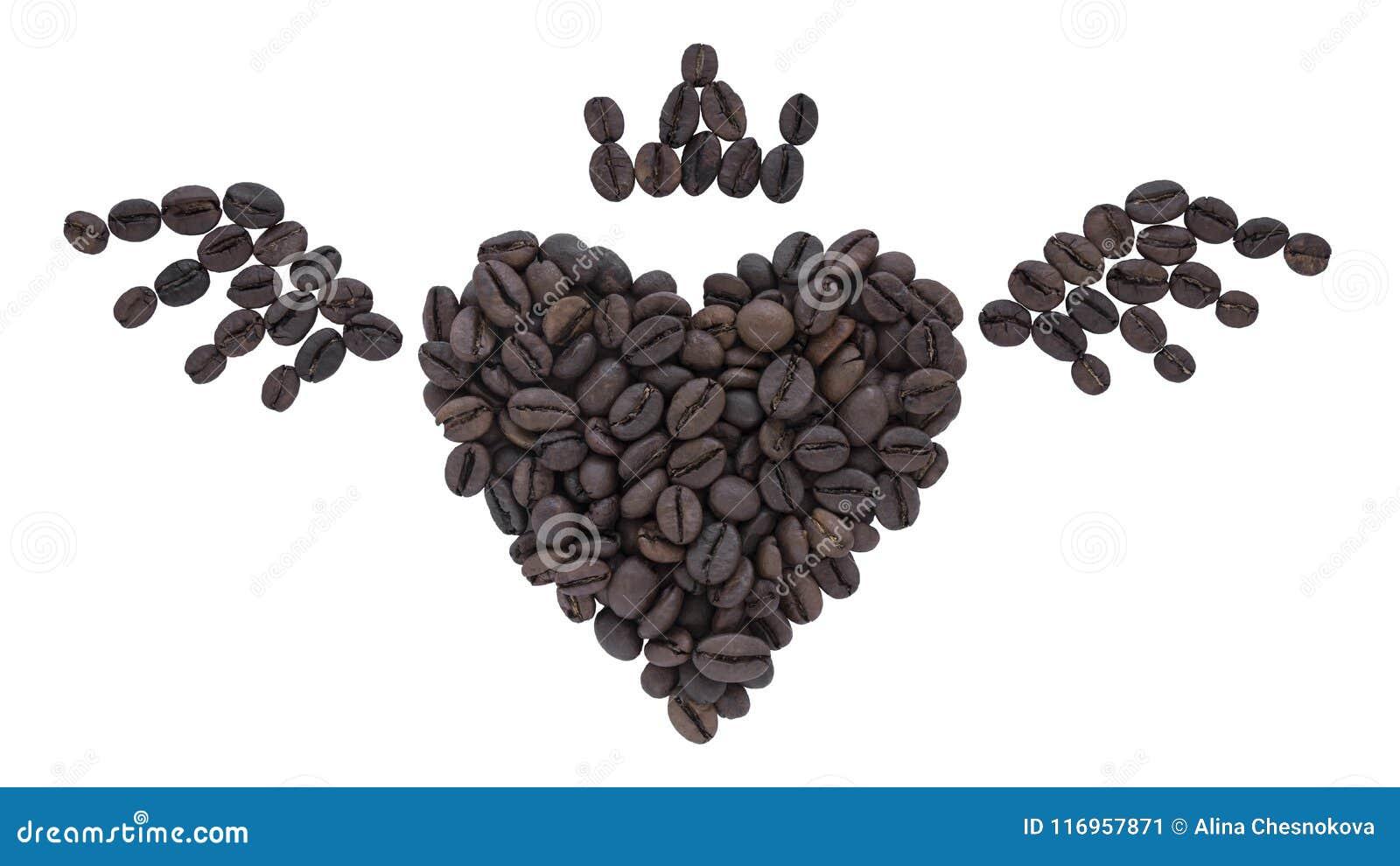 豆咖啡重点做形状