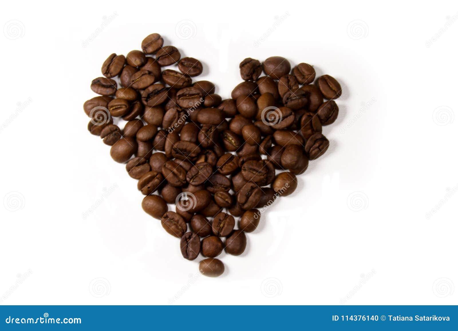 豆咖啡重点形状