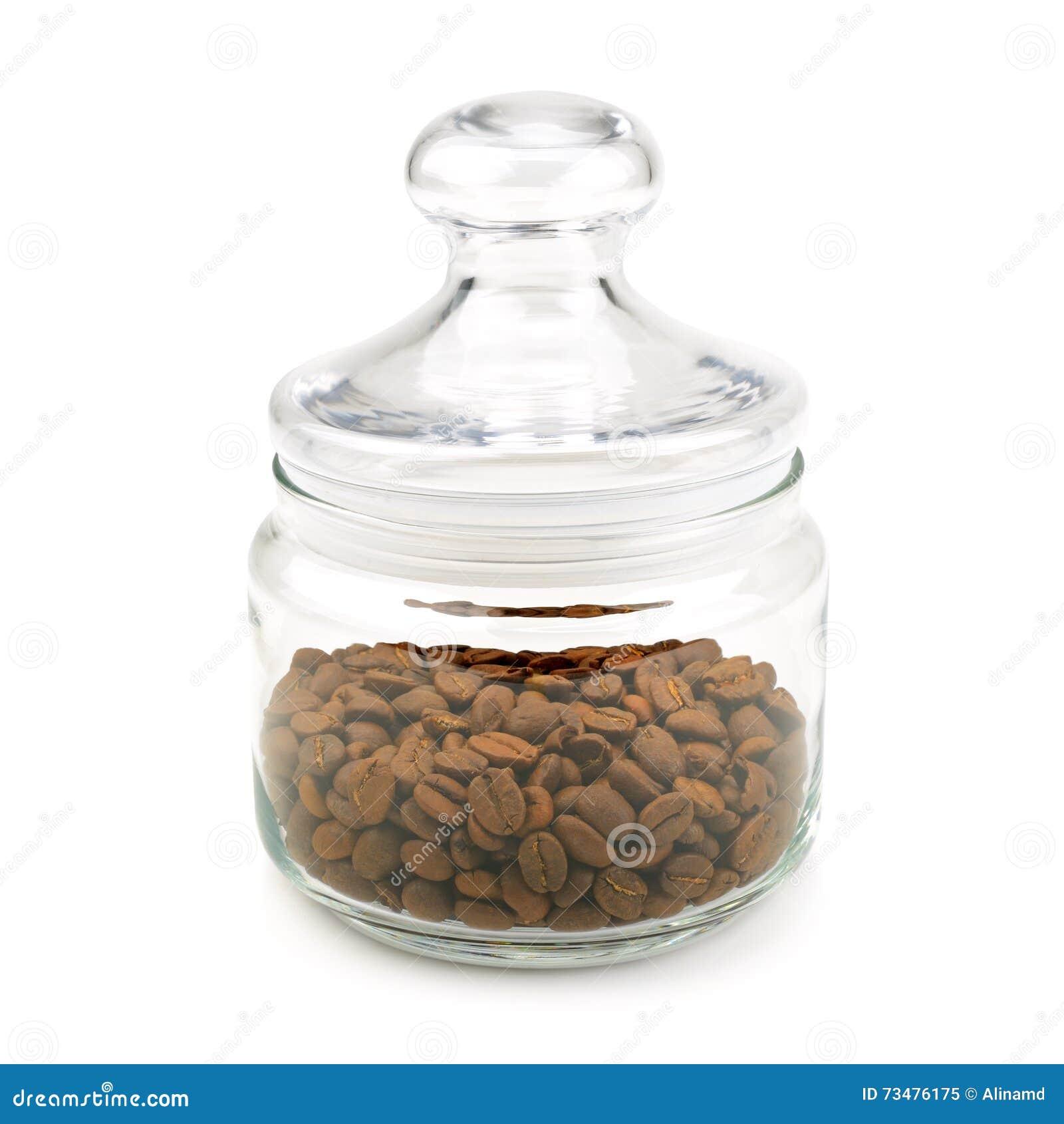 豆咖啡玻璃瓶子