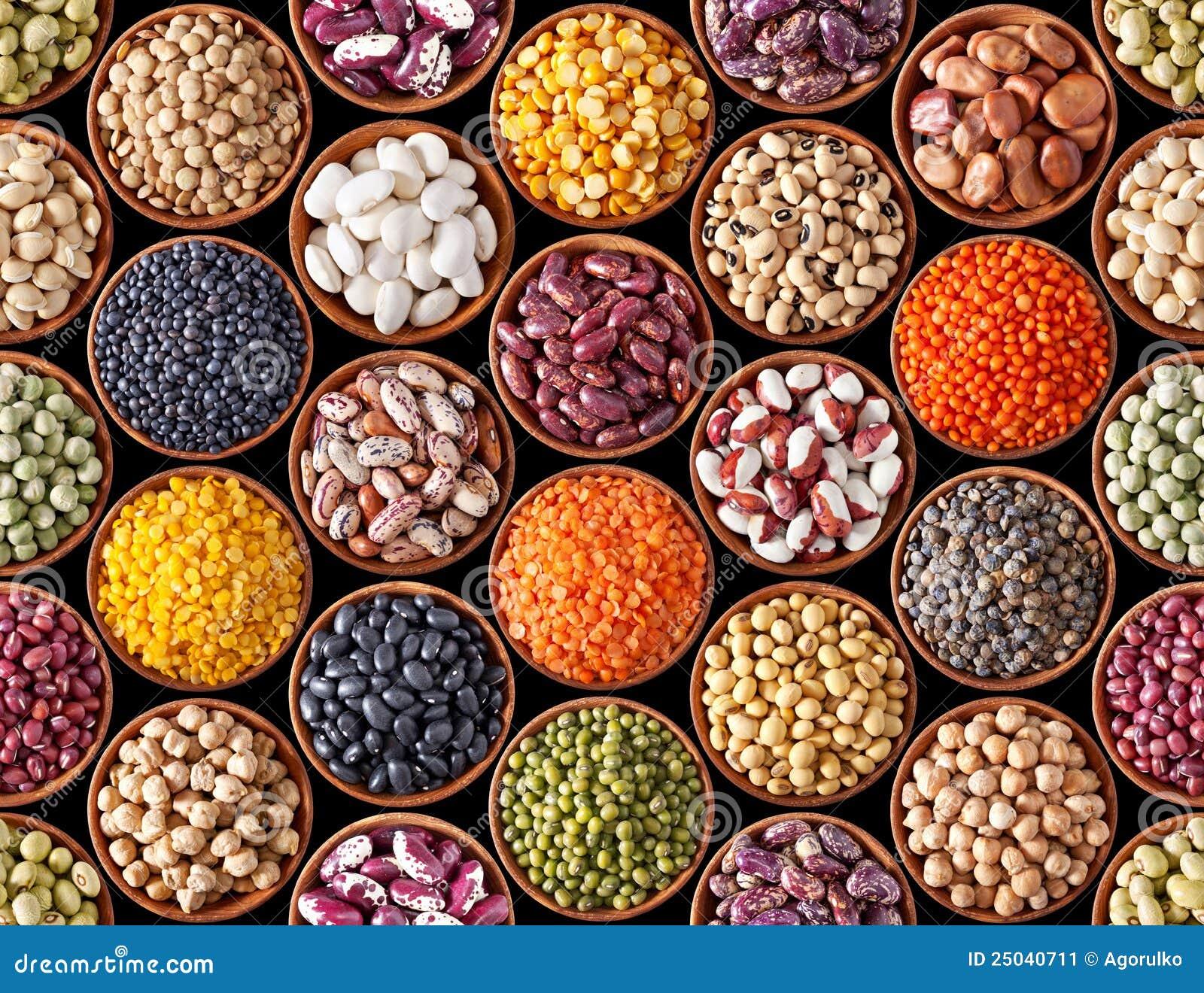 豆类无缝的纹理