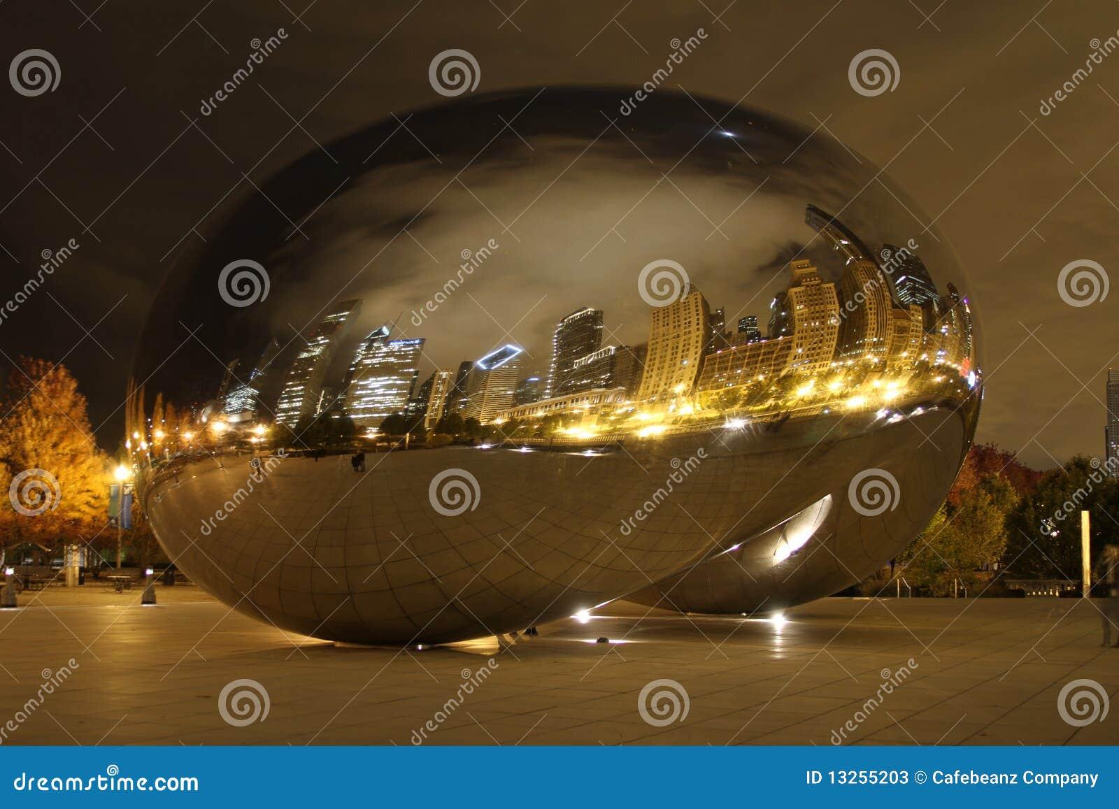 豆芝加哥晚上