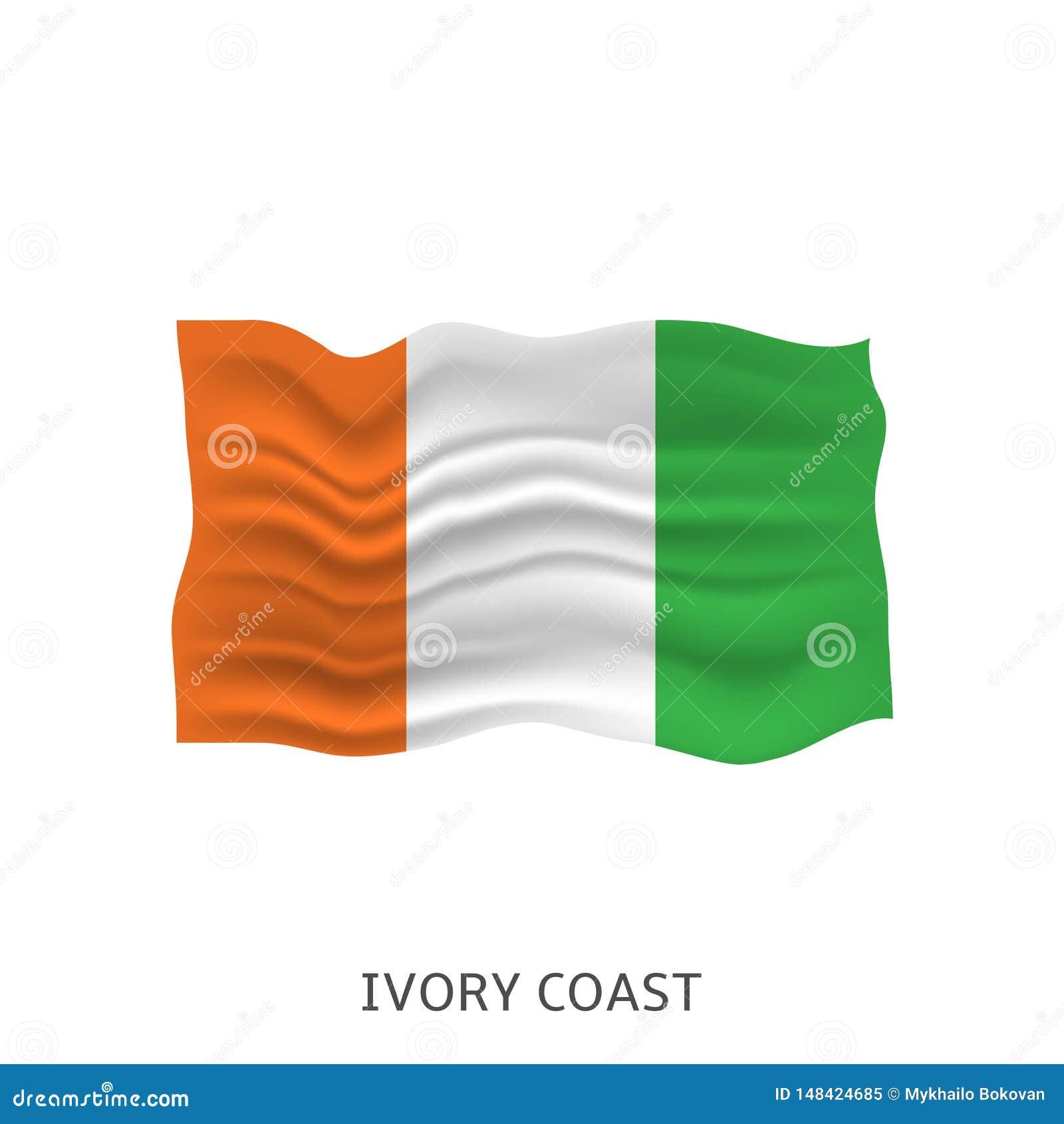 象牙海岸旗子