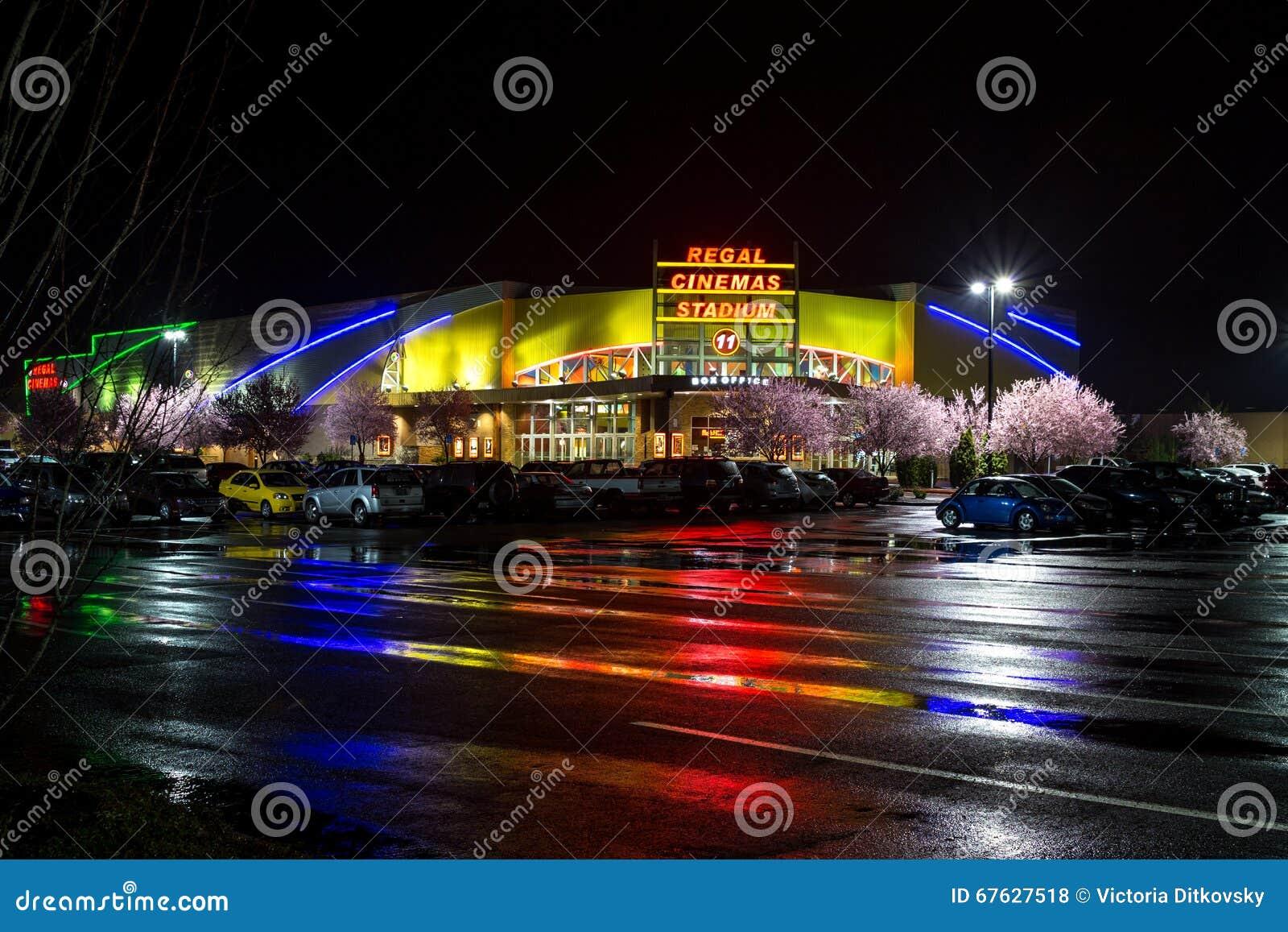豪华戏院体育场11在萨利姆,俄勒冈