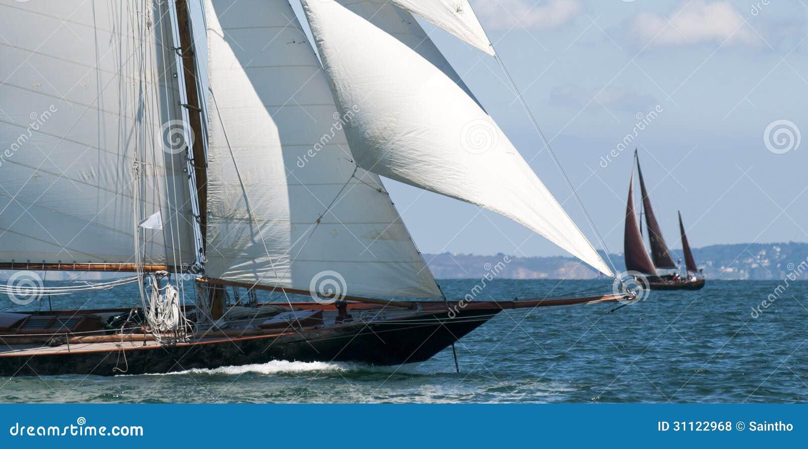 豪华游艇航行
