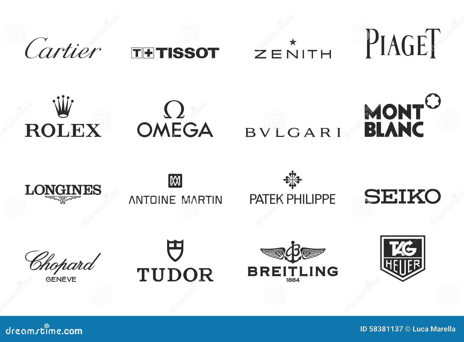 豪华观看商标 图库摄影片 插画 包括有 豪华 珠宝 界面 消耗大 Piaget 图象 徽标
