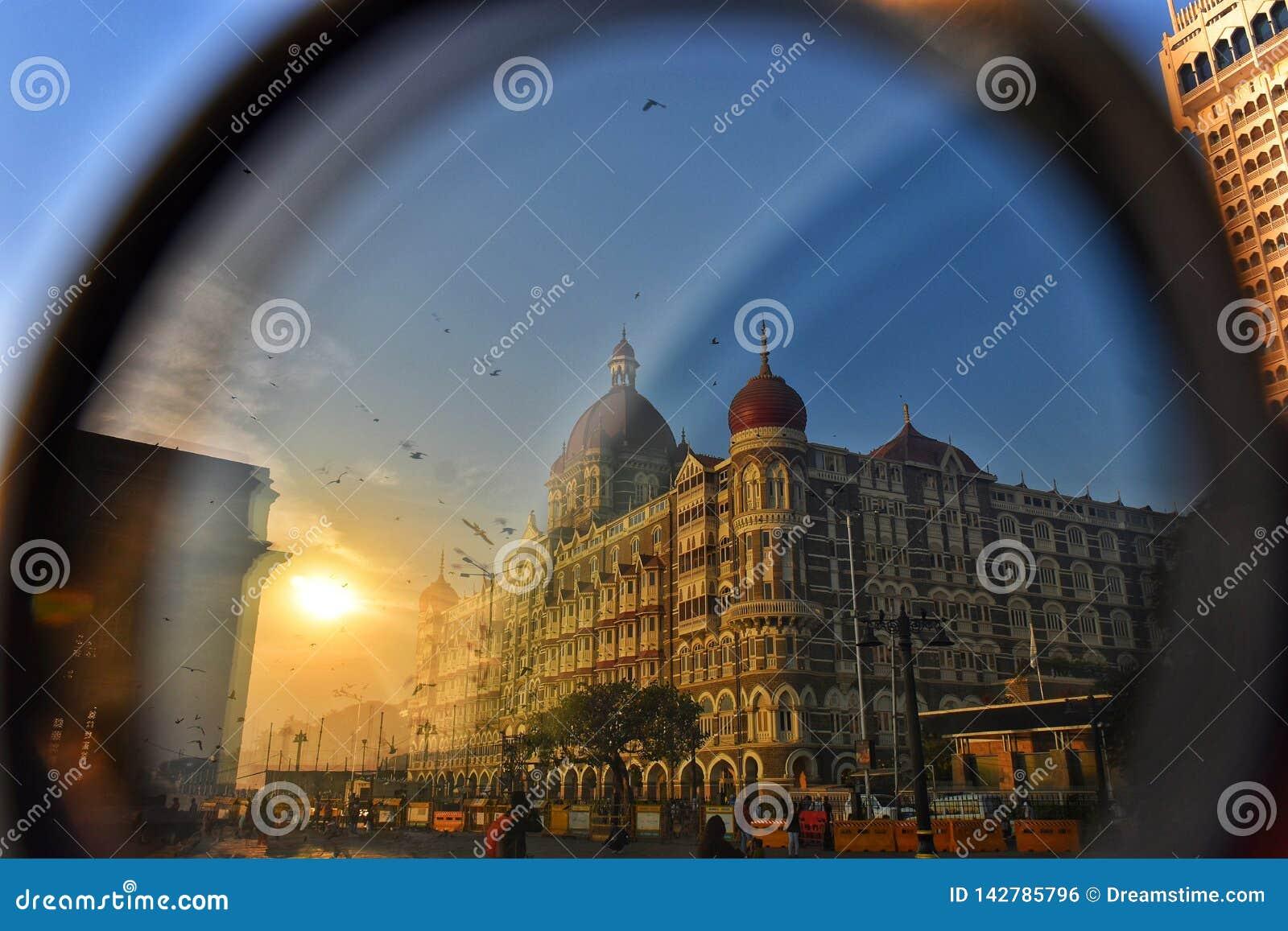 财政资本的眼睛 印度,孟买,印度的门户