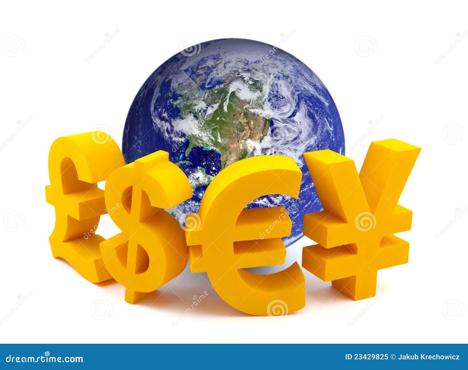 货币地球符号