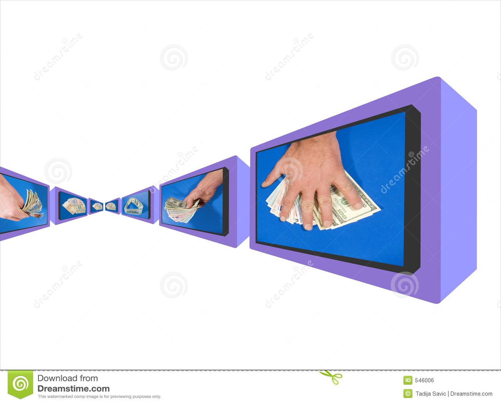 Download 货币监控程序 库存例证. 插画 包括有 股票, 货币, 监控程序, 附注, 颜色, 办公室, 美元, 状态, 替换 - 546006