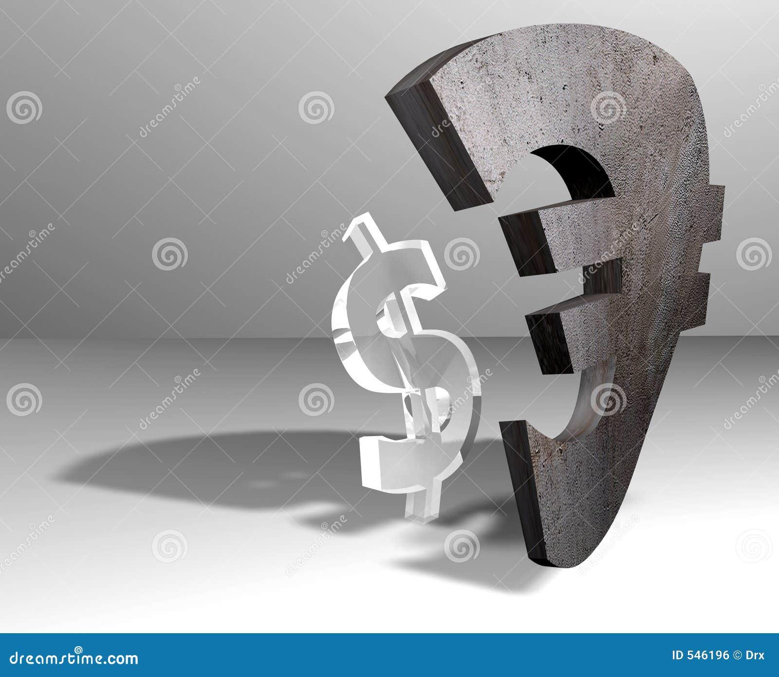 Download 货币美元欧元 库存例证. 插画 包括有 经济, 费率, 美元, 关系, 战场, 次幂, 财务, 欧洲, 严格 - 546196