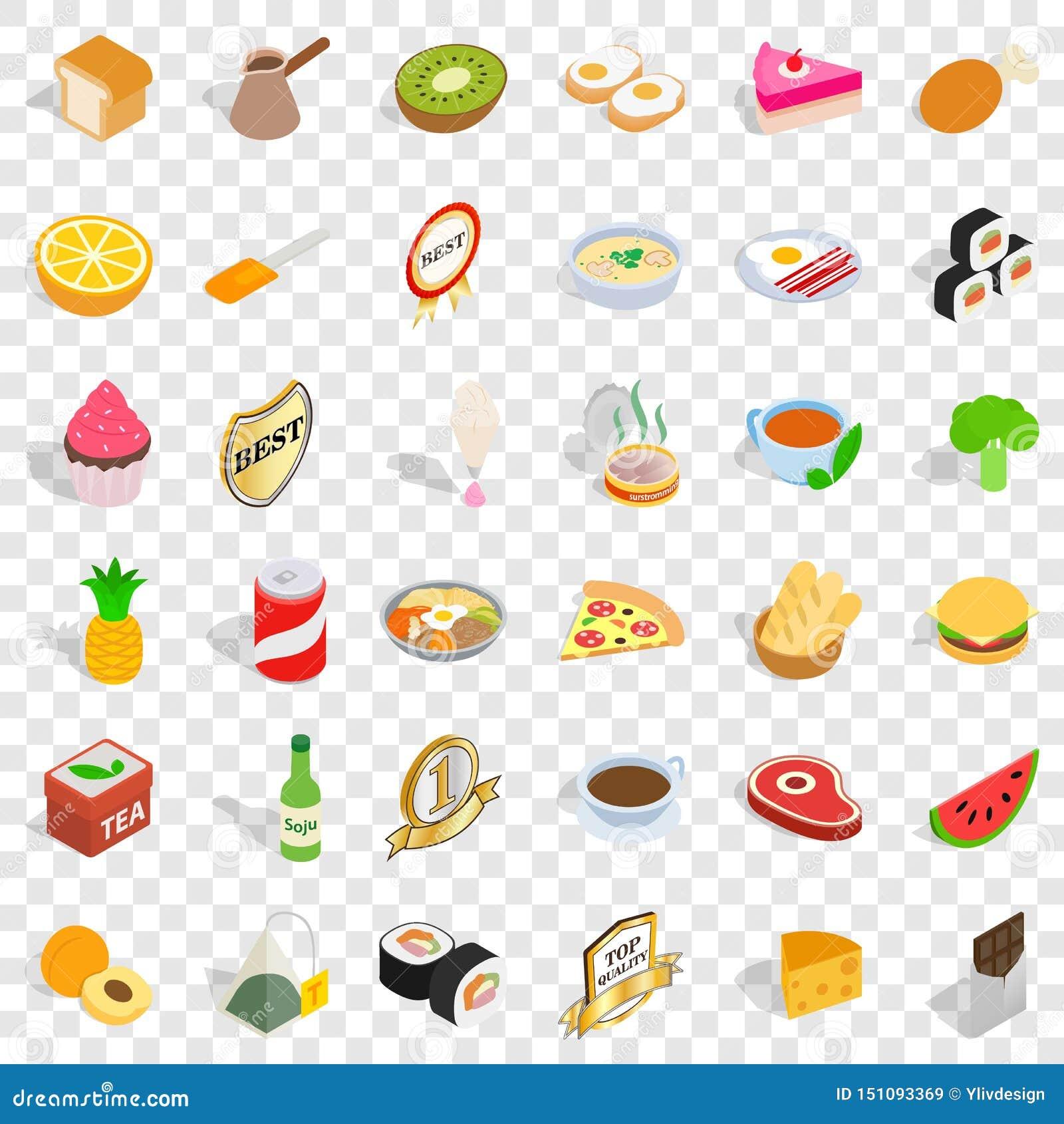 质量食物象集合,等量样式