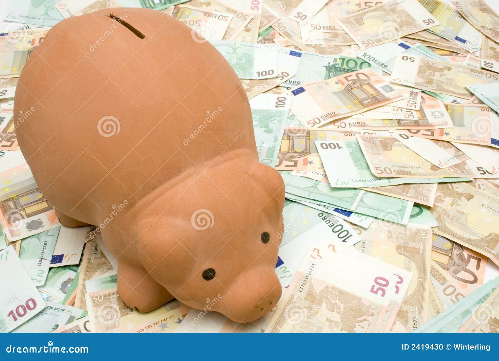 贪心银行的钞票