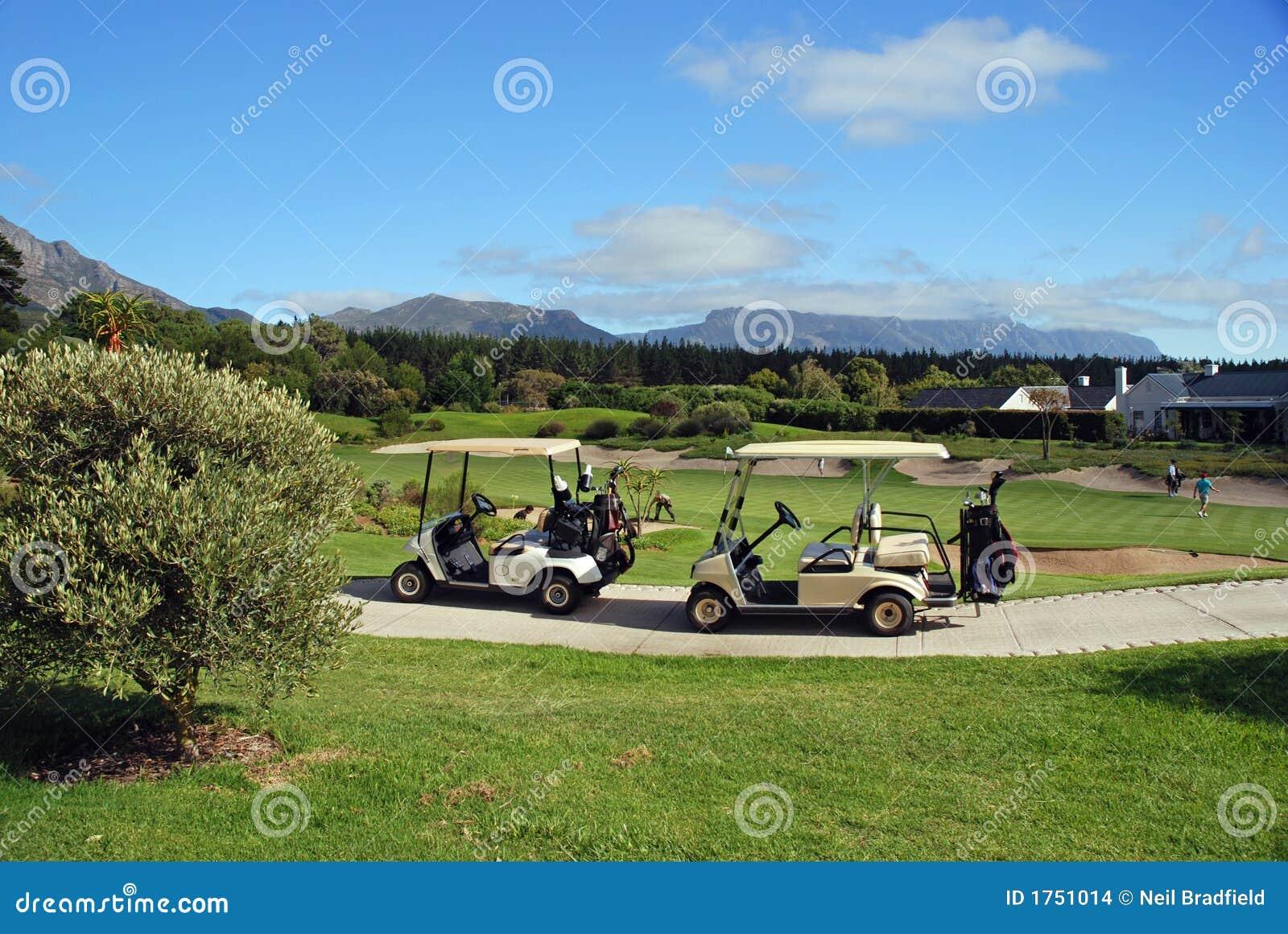 购物车高尔夫球