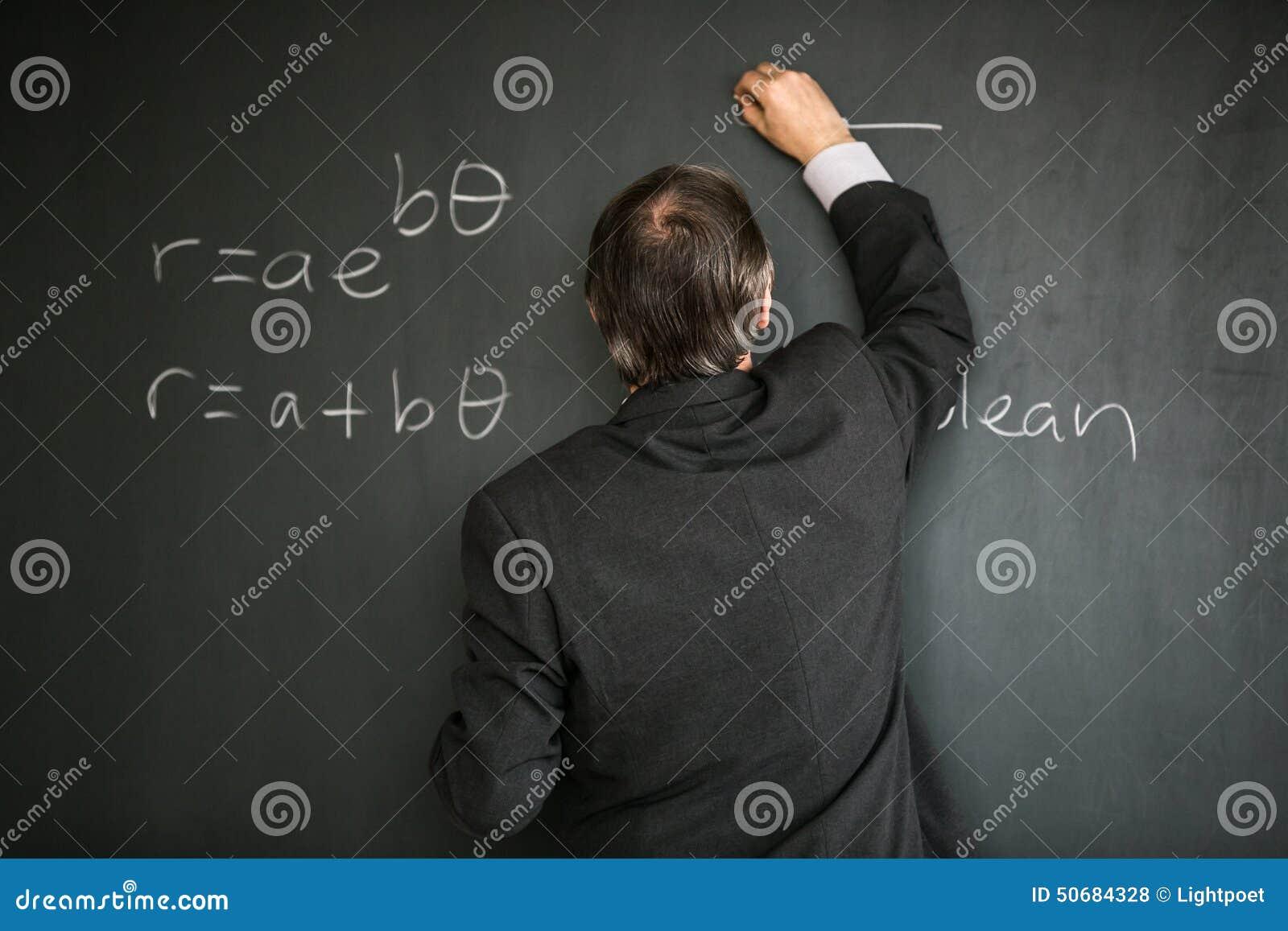Download 资深男老师教的数学 库存照片. 图片 包括有 几何, 投反对票, 蓝色, 男朋友, 学院, 绘制, 复制 - 50684328