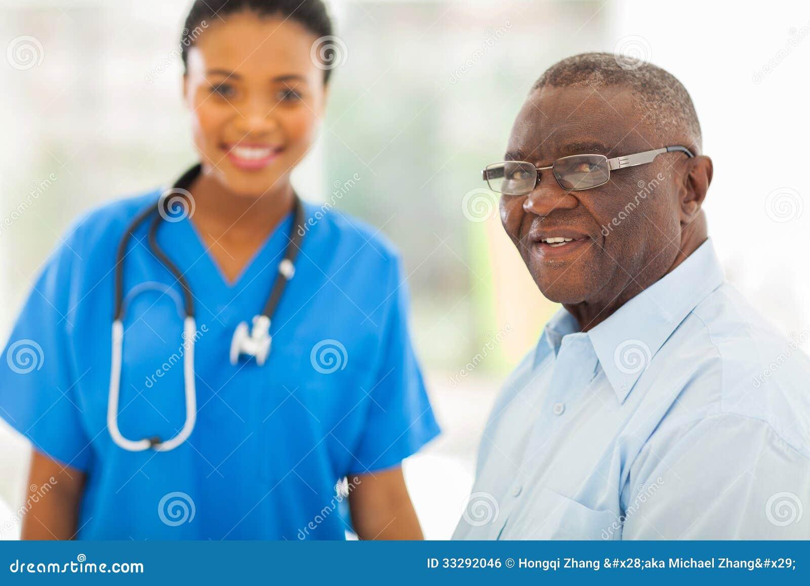 资深非洲人医生