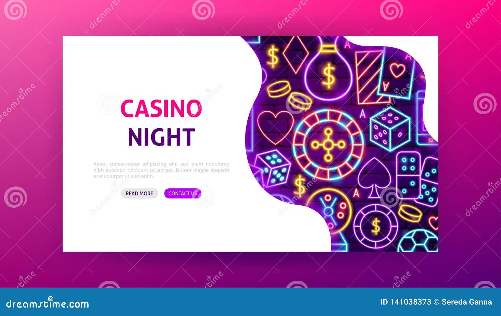 赌博娱乐场夜霓虹登陆的页