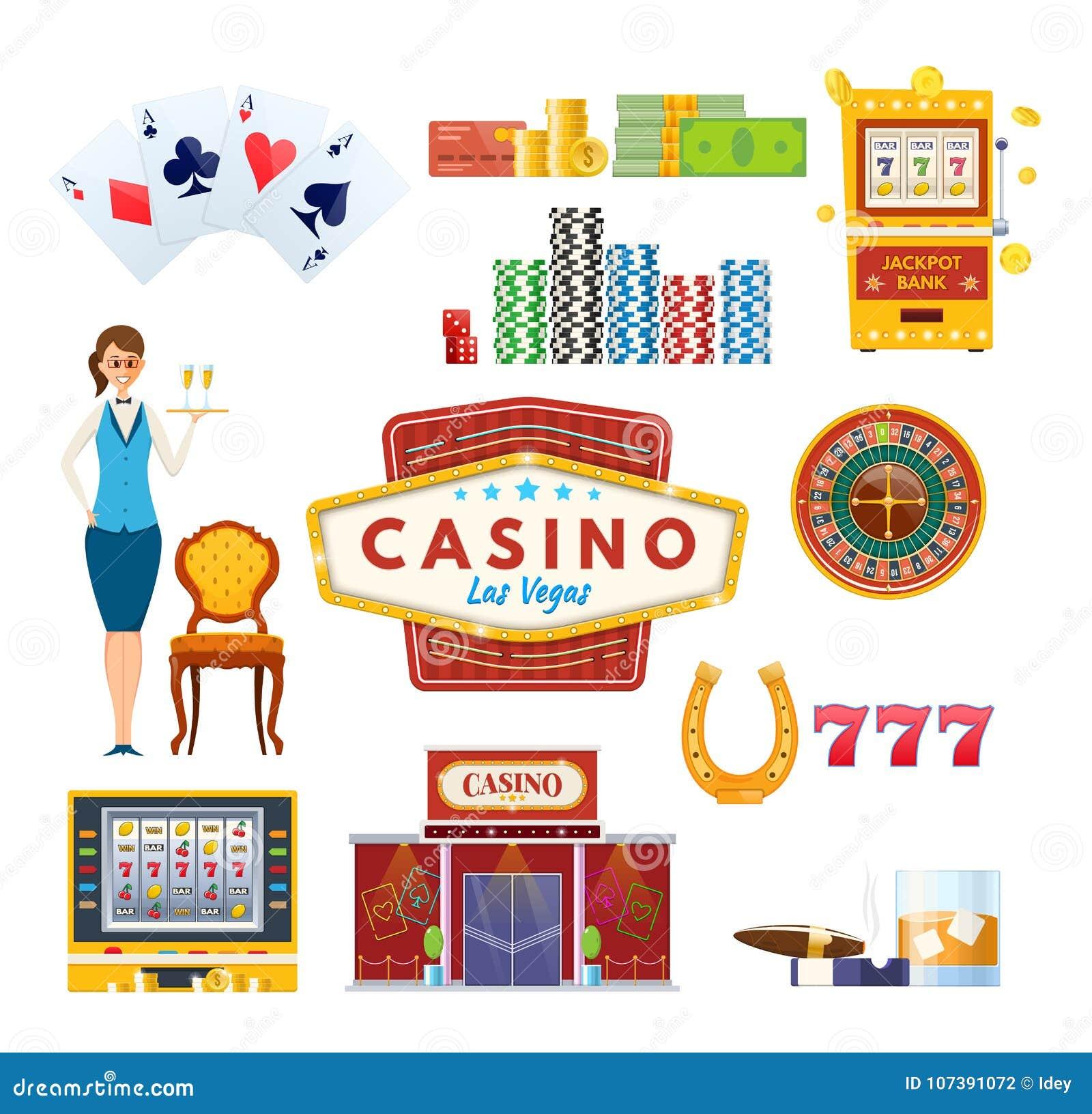 赌博娱乐场拉斯维加斯概念 成功,运气,幸福 赌博,啤牌,金钱