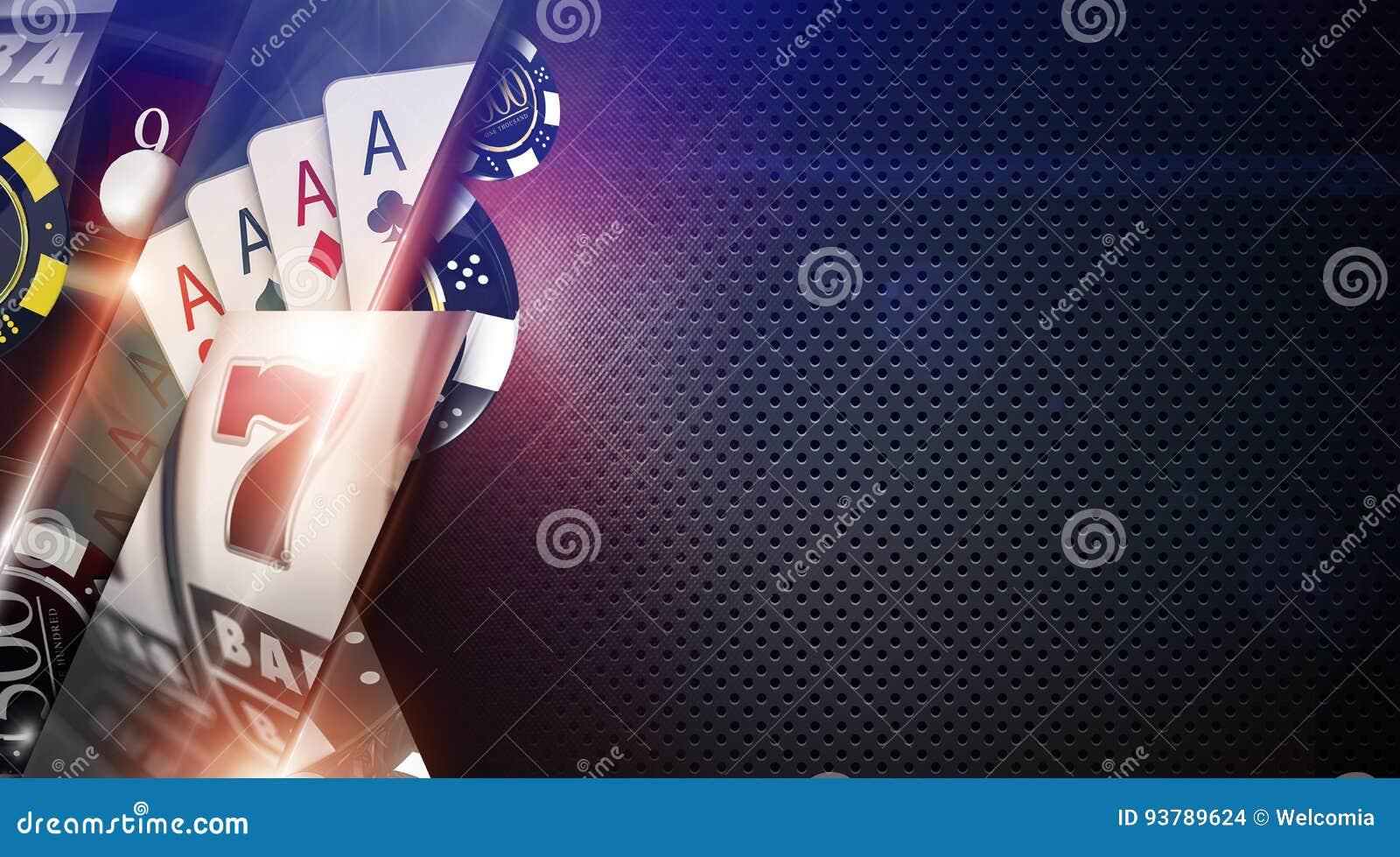 赌博娱乐场比赛背景