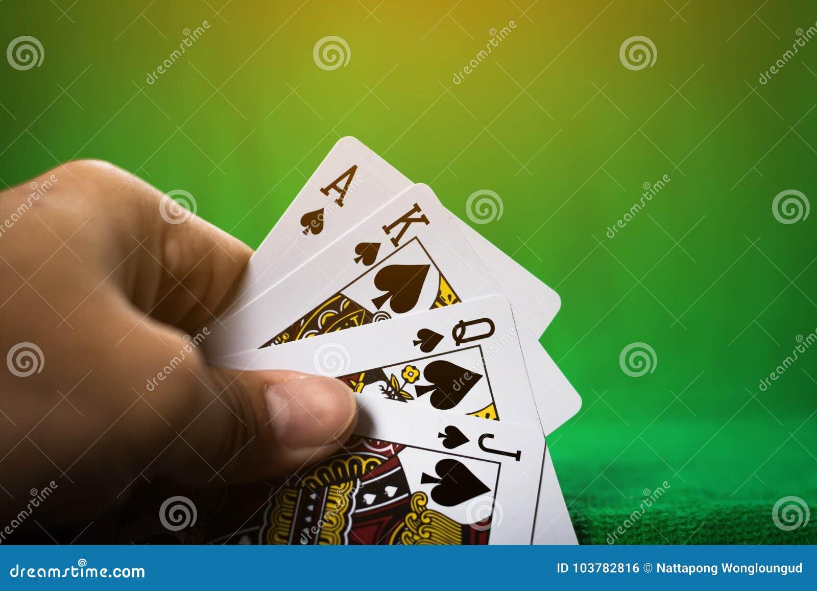 赌博的打牌