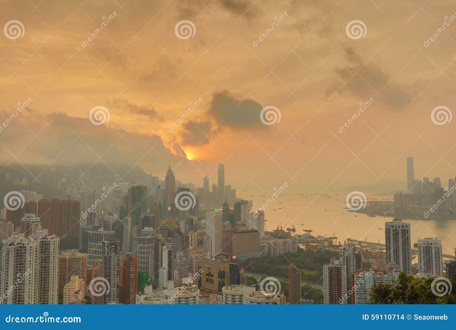 赛西尔的香港Ride先生景色