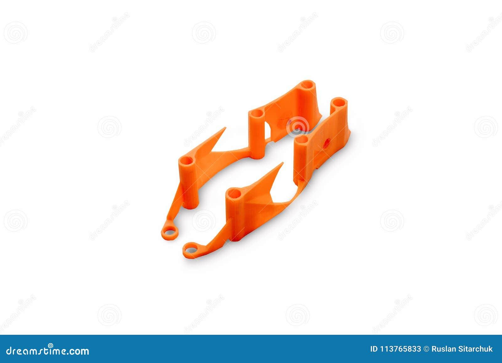 赛跑的寄生虫汇编的起点 一辆无人空中车的一个备件的元素在3d打印机, isol构筑打印