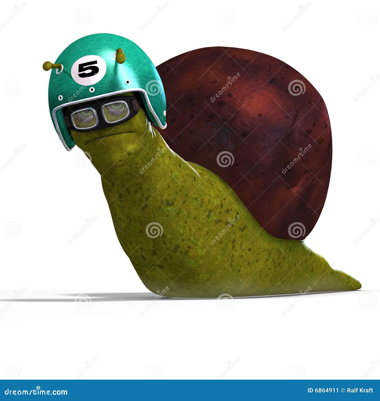 赛跑蜗牛的动画片