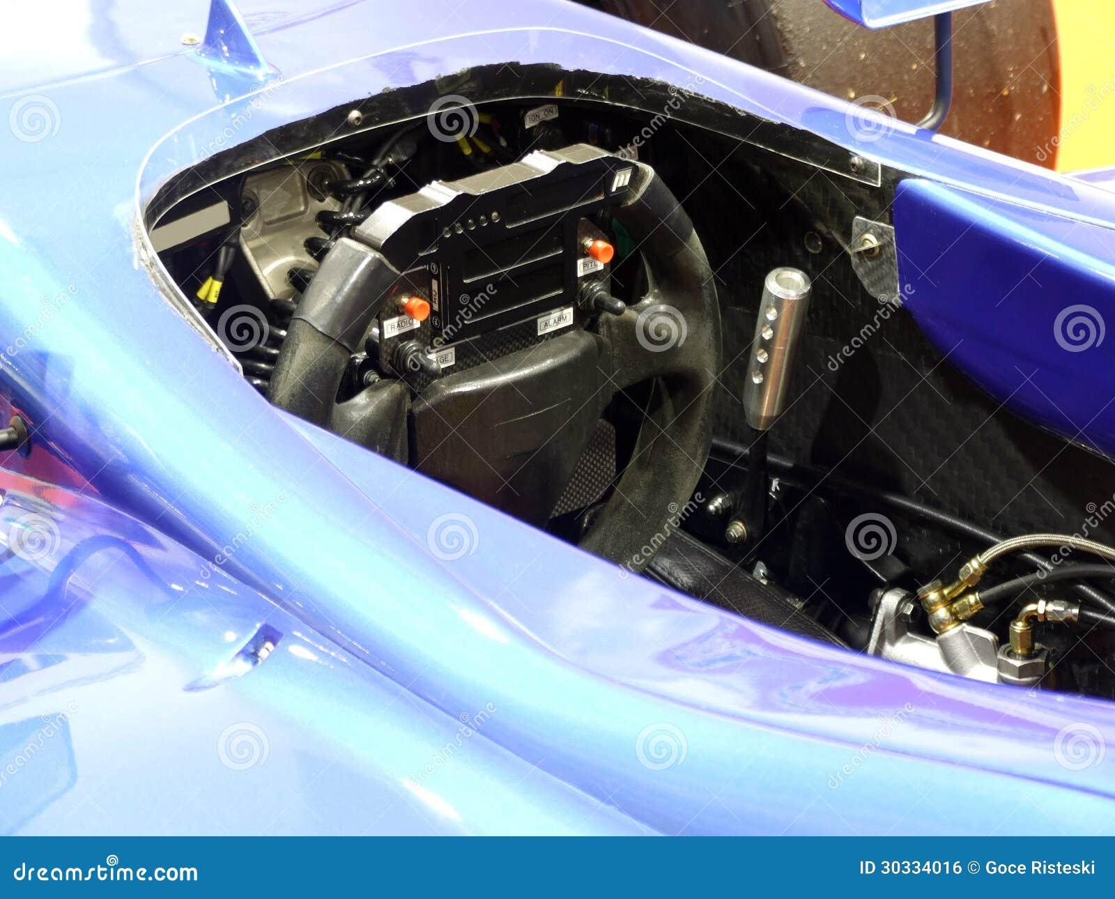 赛车仪表板