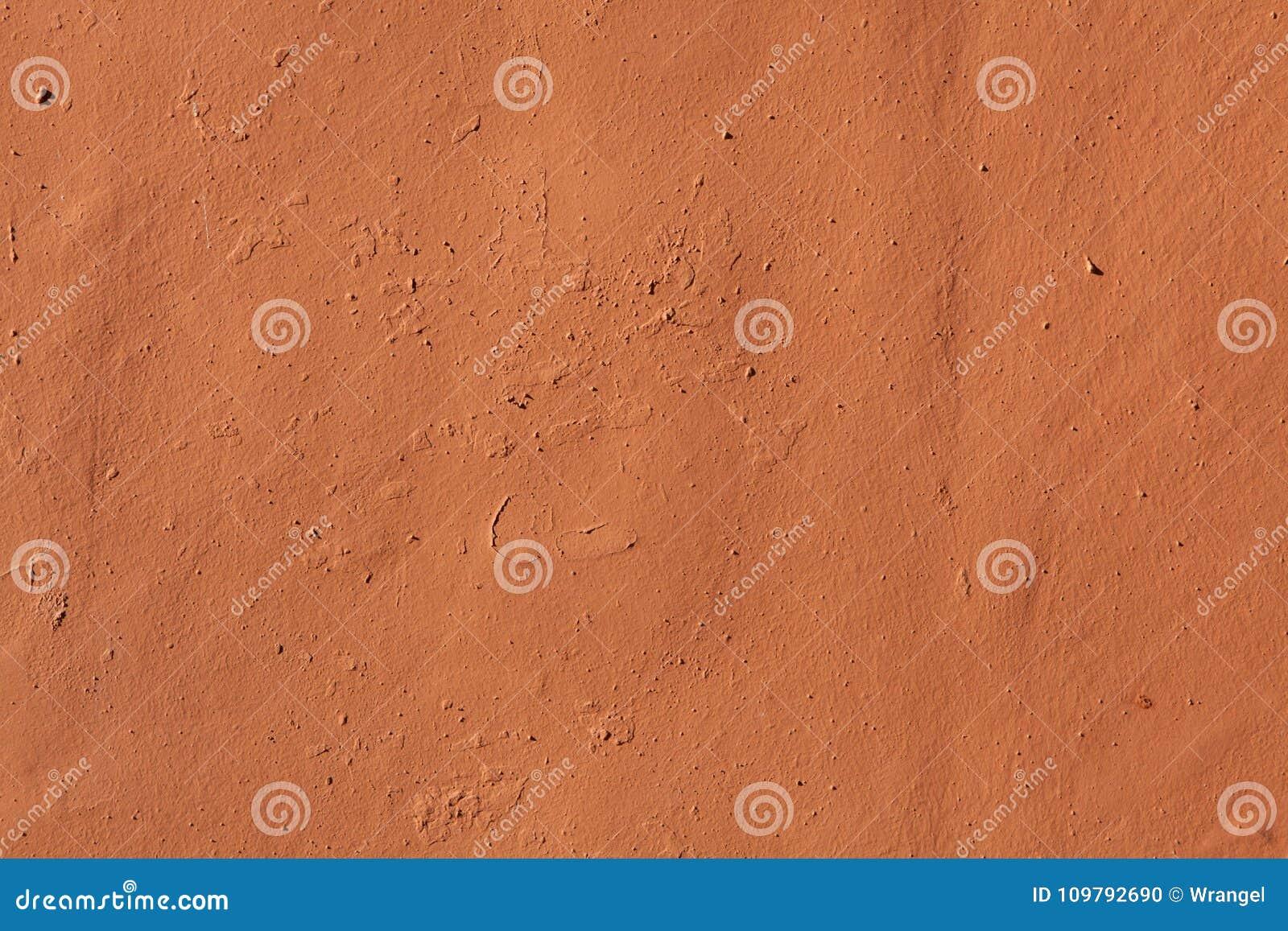 赤土陶器被绘的灰泥墙壁 木背景详细资料老纹理的视窗