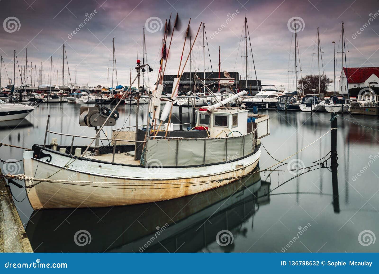 赫尔辛堡Raa渔船