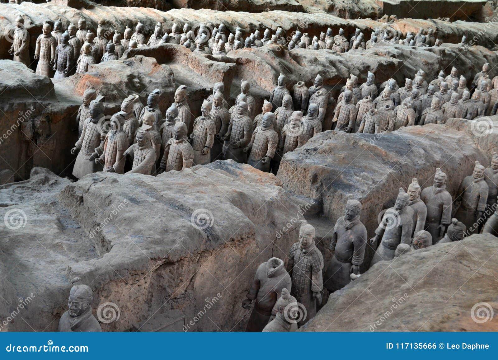 走离XI的`的,中国赤土陶器战士较近 它` s每t
