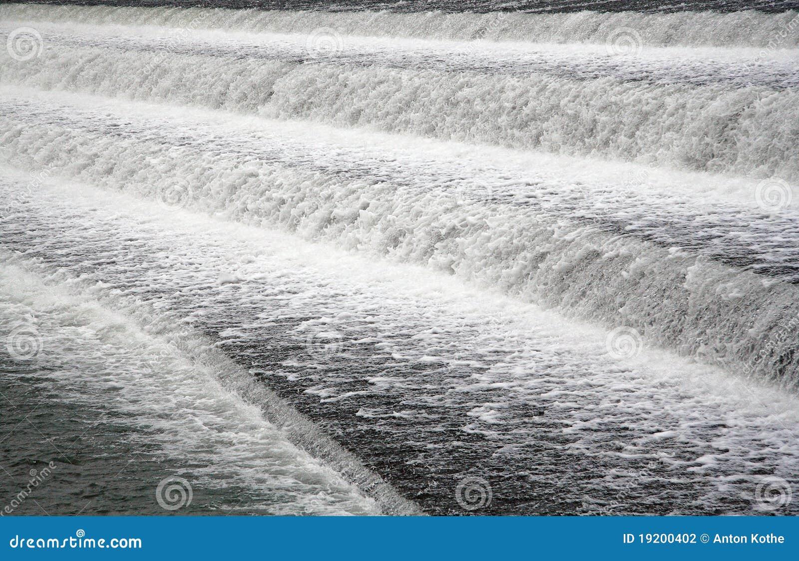 起泡沫的水