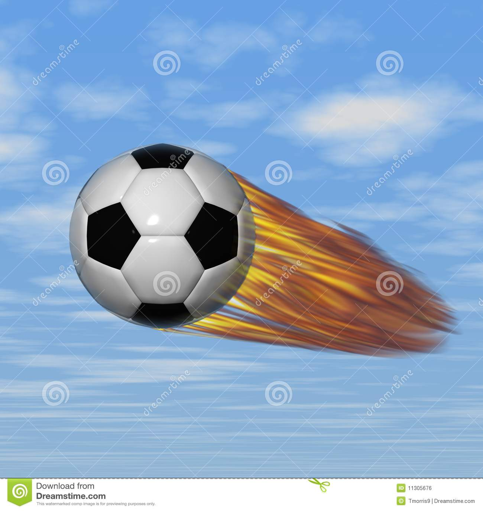 超级的足球