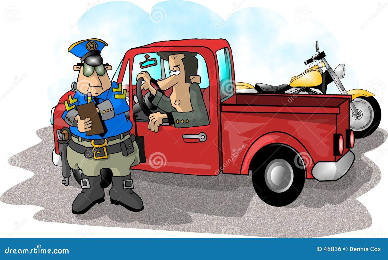 超速行车罚单