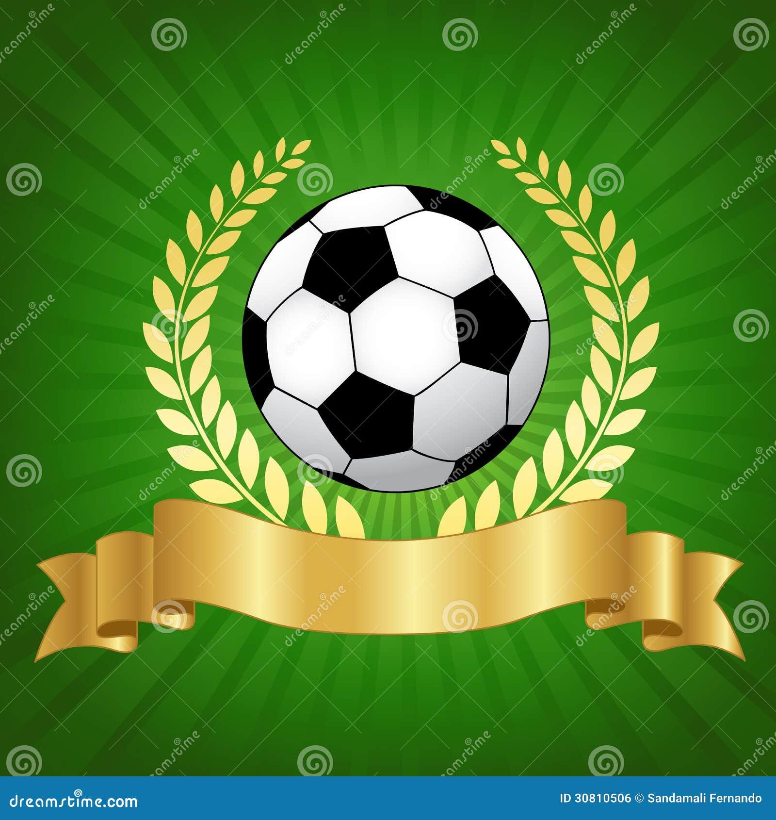 足球与橄榄球的冠军设计